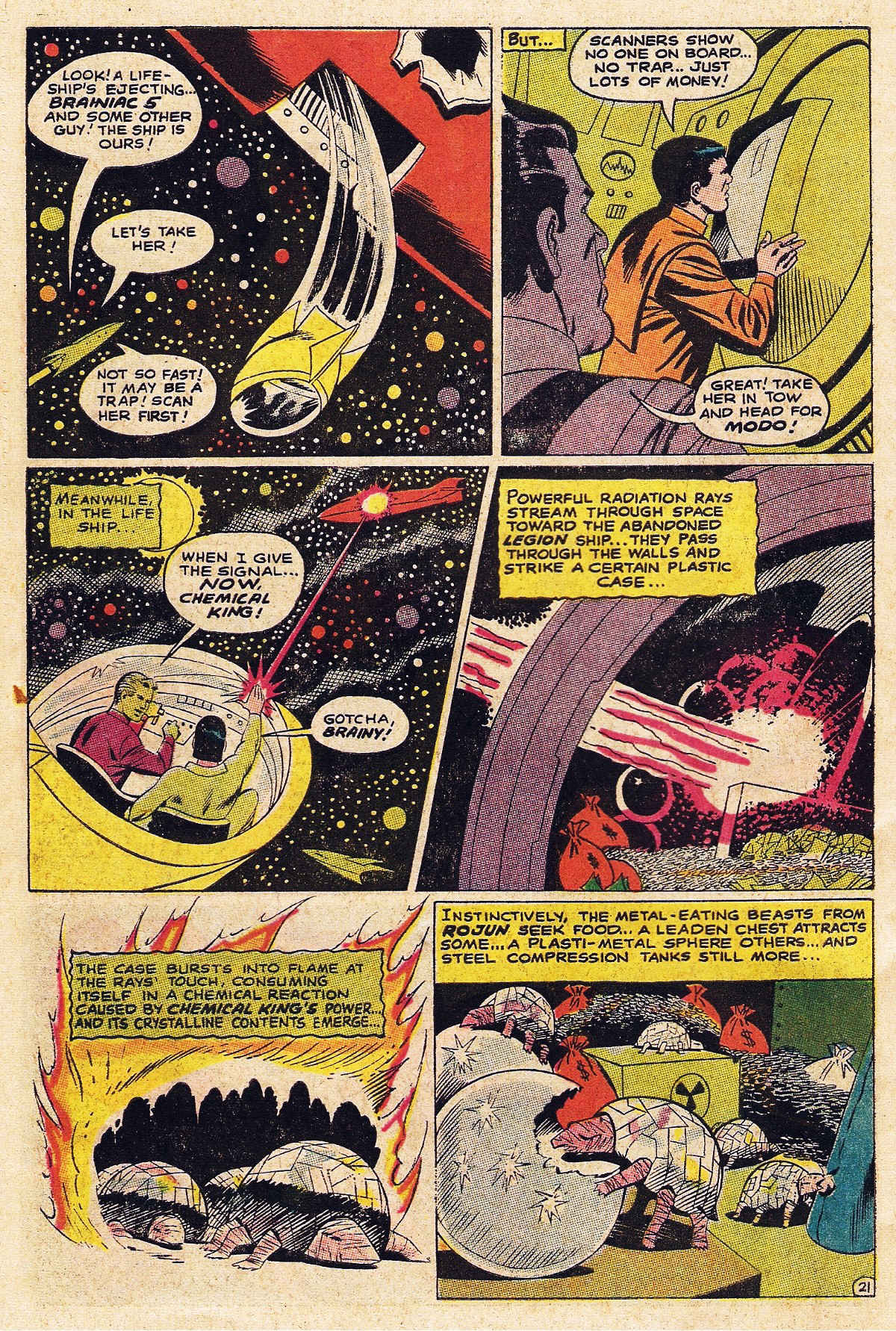 Read online Adventure Comics (1938) comic -  Issue #377 - 30