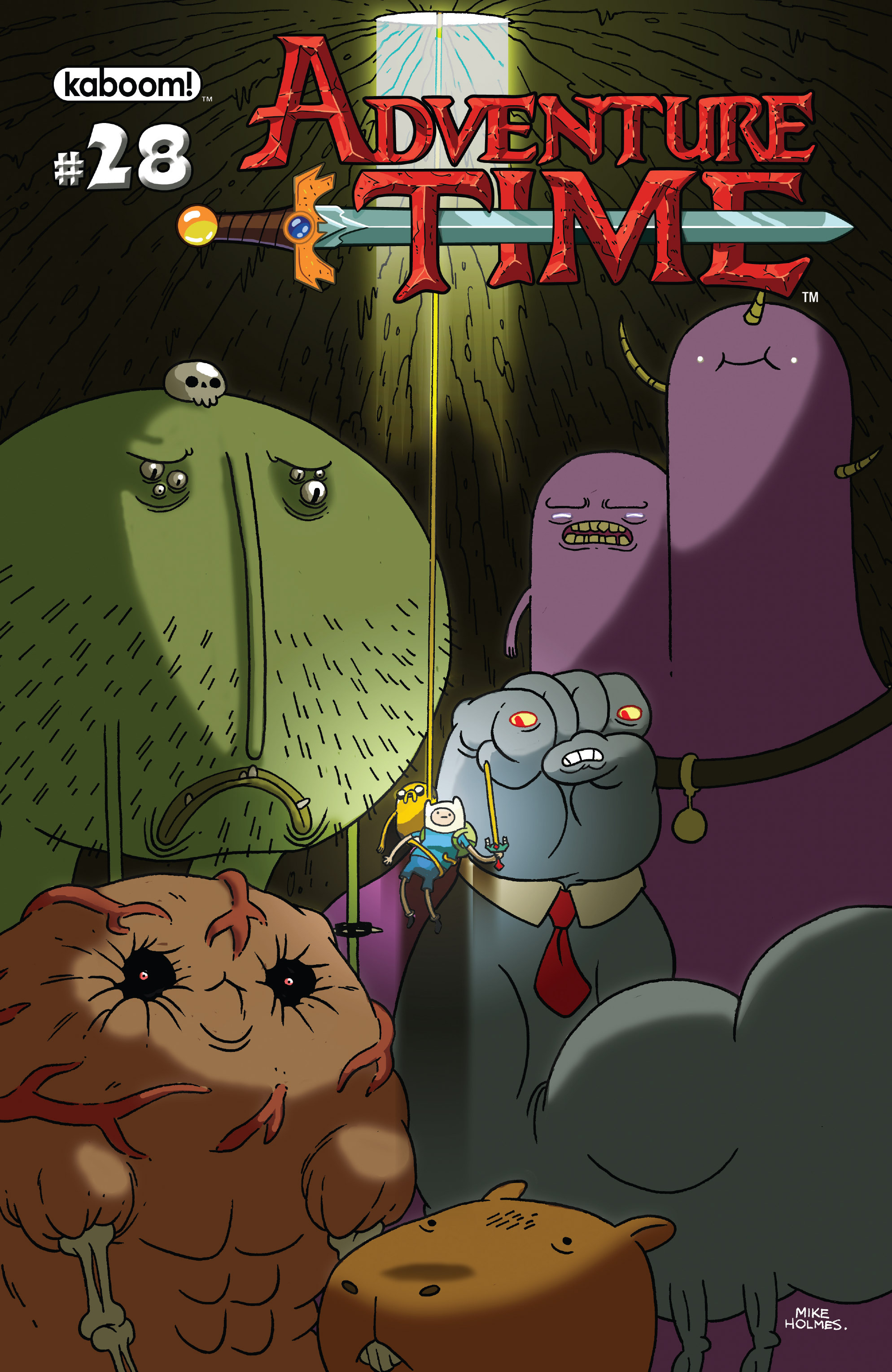 Read online Adventure Time comic -  Issue #28 - 1