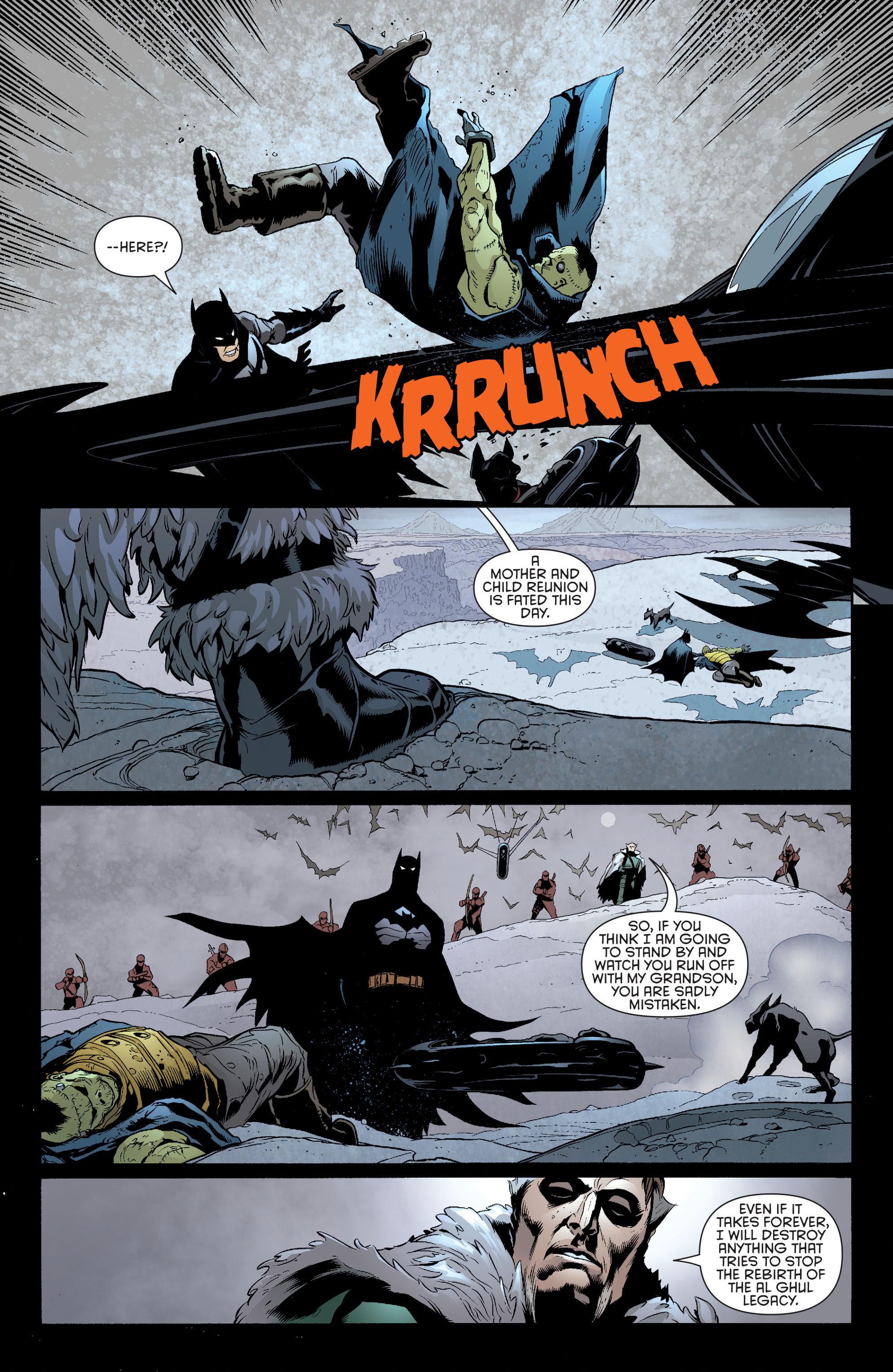Read online Batman and Robin (2011) comic -  Issue #32 - Batman and Ra's al Ghul - 13