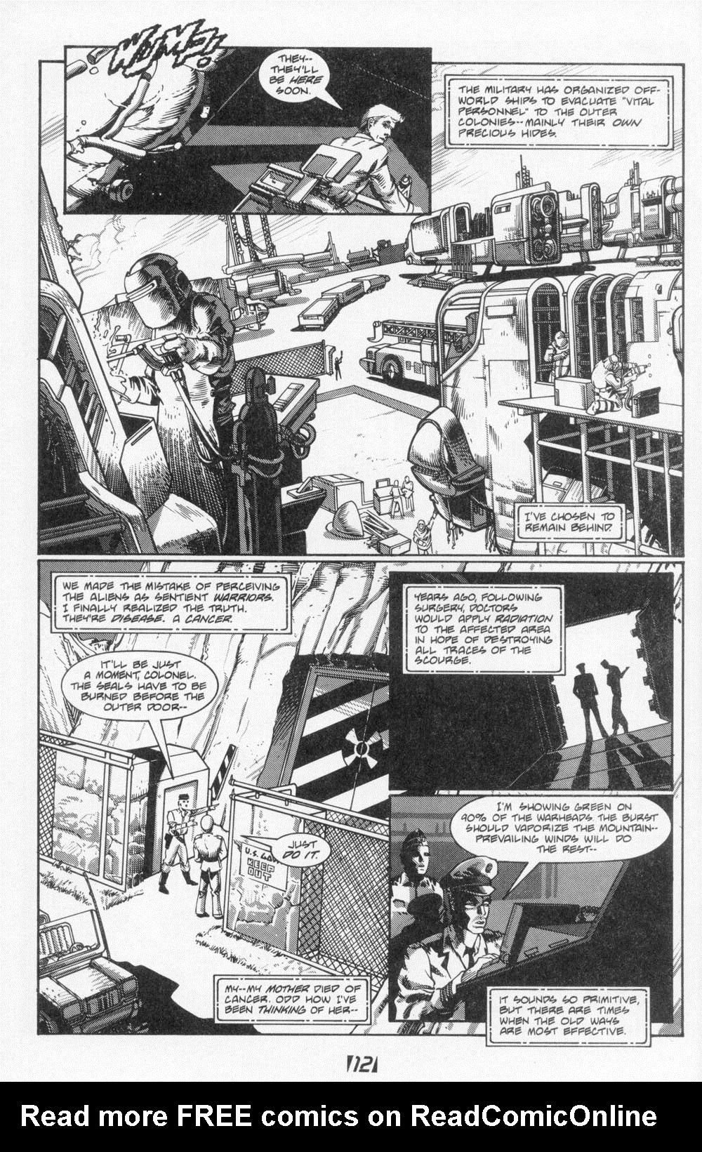 Read online Aliens (1988) comic -  Issue #6 - 14