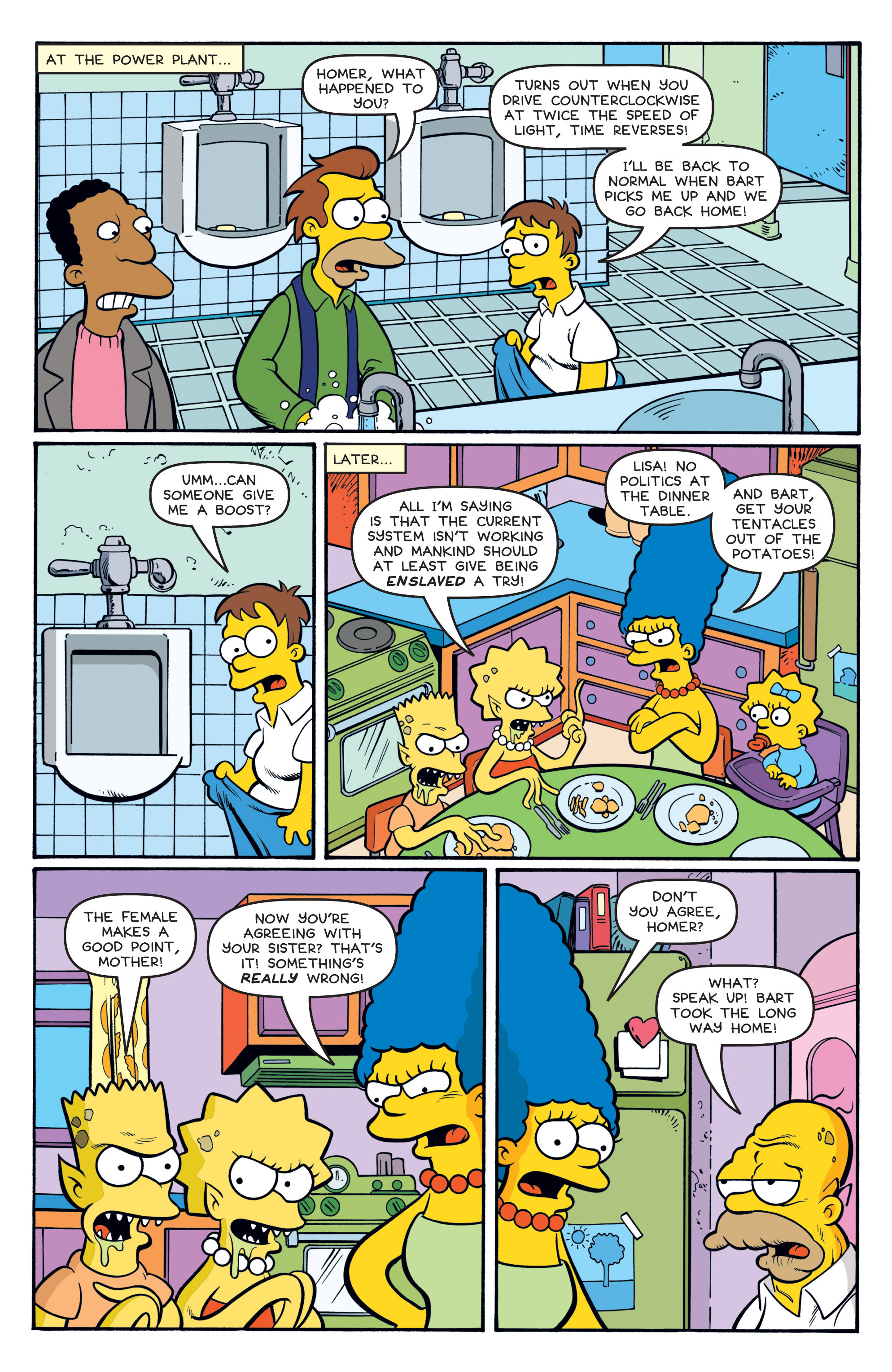 Read online Treehouse of Horror comic -  Issue #19 - 19