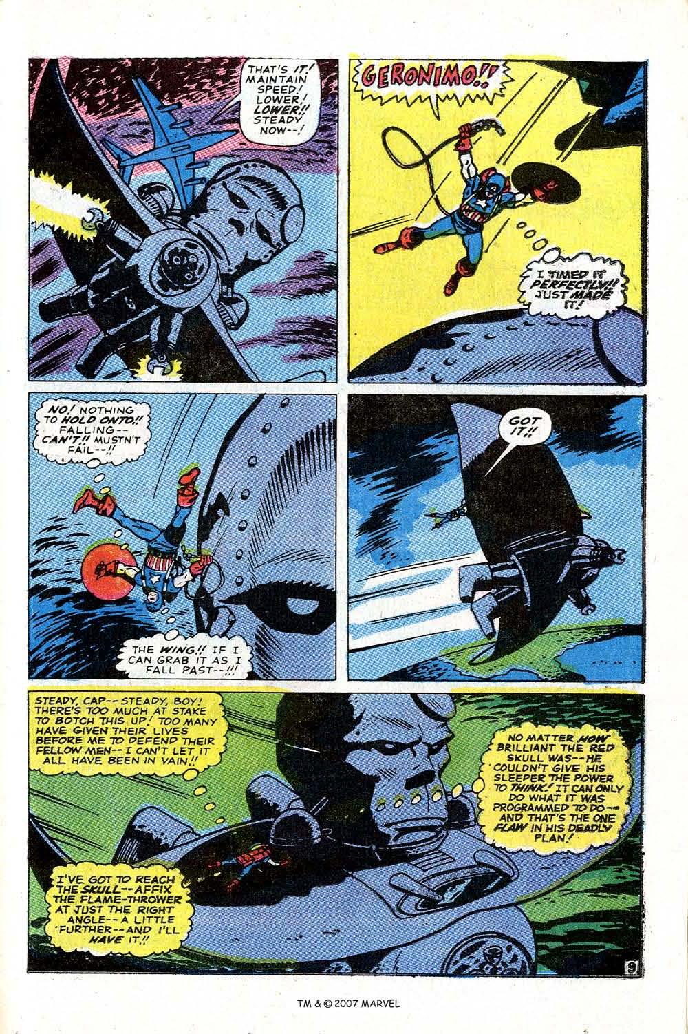 Read online Captain America (1968) comic -  Issue # _Annual 2 - 39