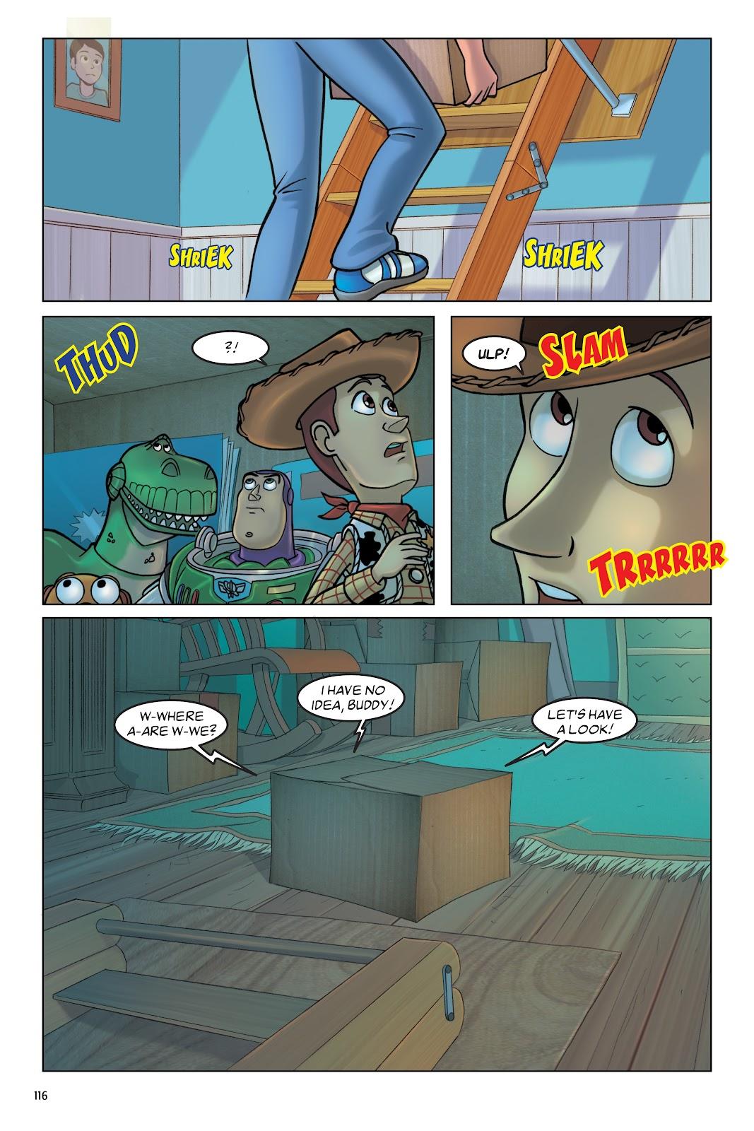 Read online DISNEY·PIXAR Toy Story Adventures comic -  Issue # TPB 1 (Part 2) - 16