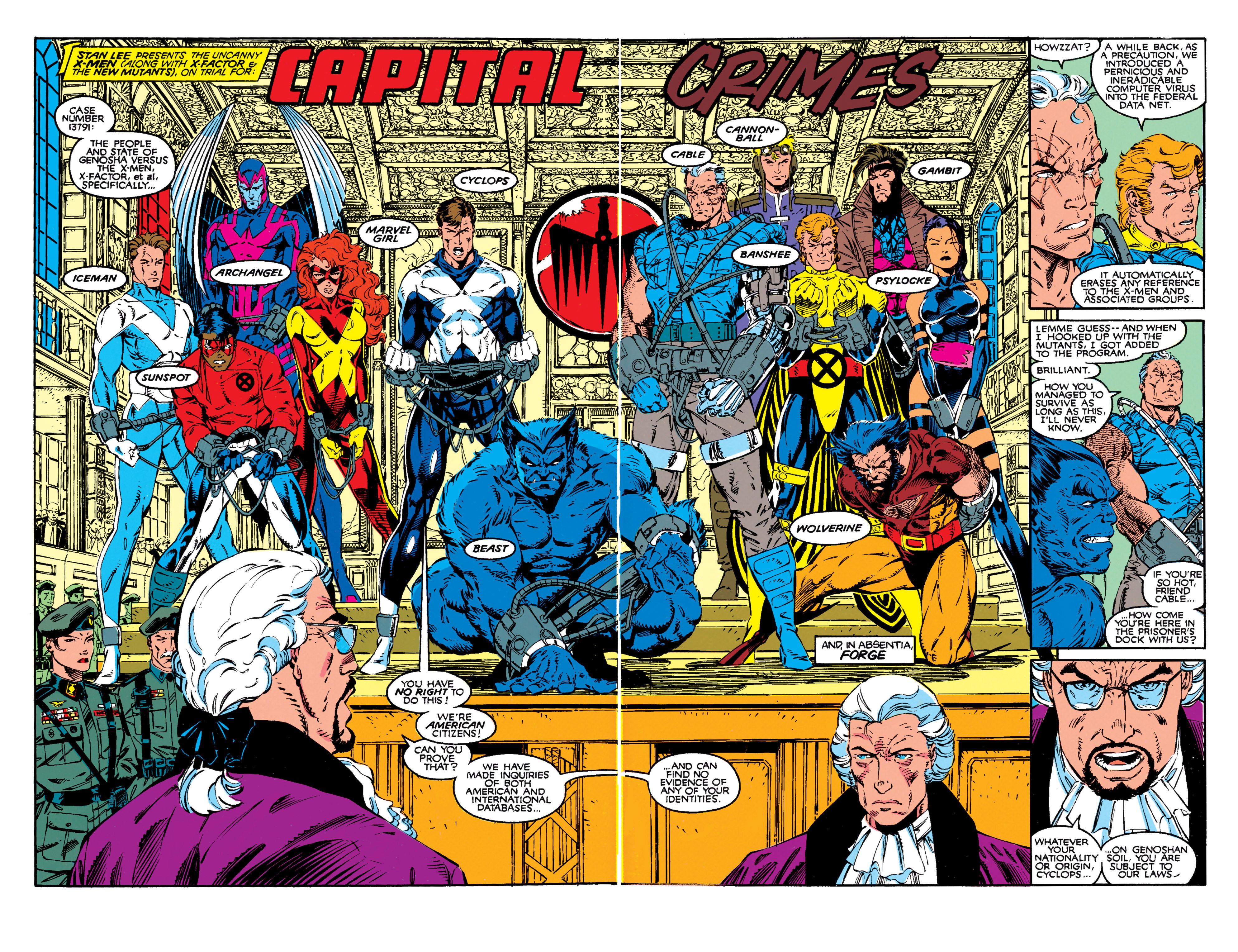 Read online Uncanny X-Men (1963) comic -  Issue #272 - 3