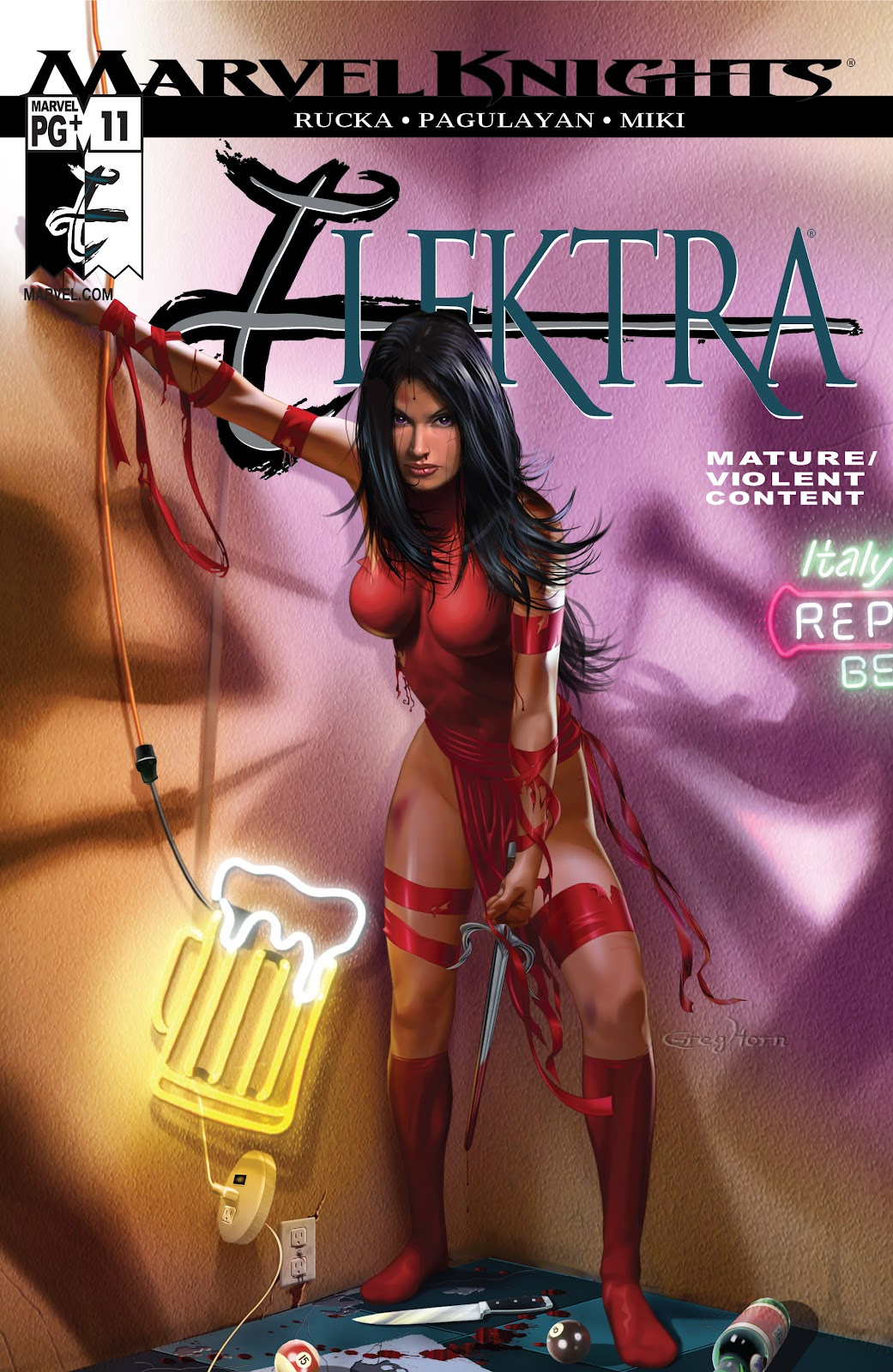Read online Elektra (2001) comic -  Issue # _TPB Elektra by Greg Rucka Ultimate Collection (Part 2) - 8