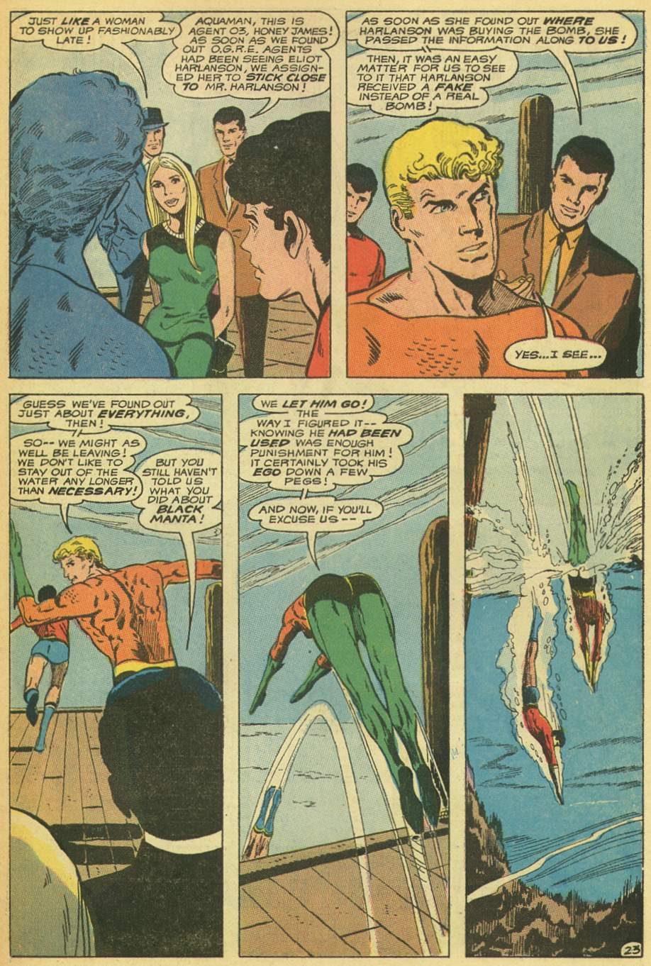 Read online Aquaman (1962) comic -  Issue #53 - 31