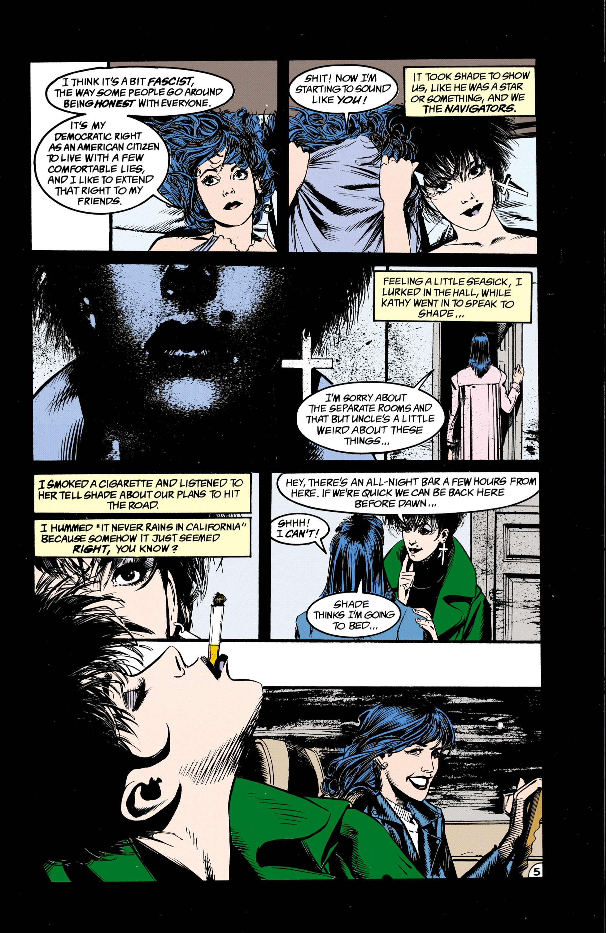 Read online Shade, the Changing Man comic -  Issue #26 - 6