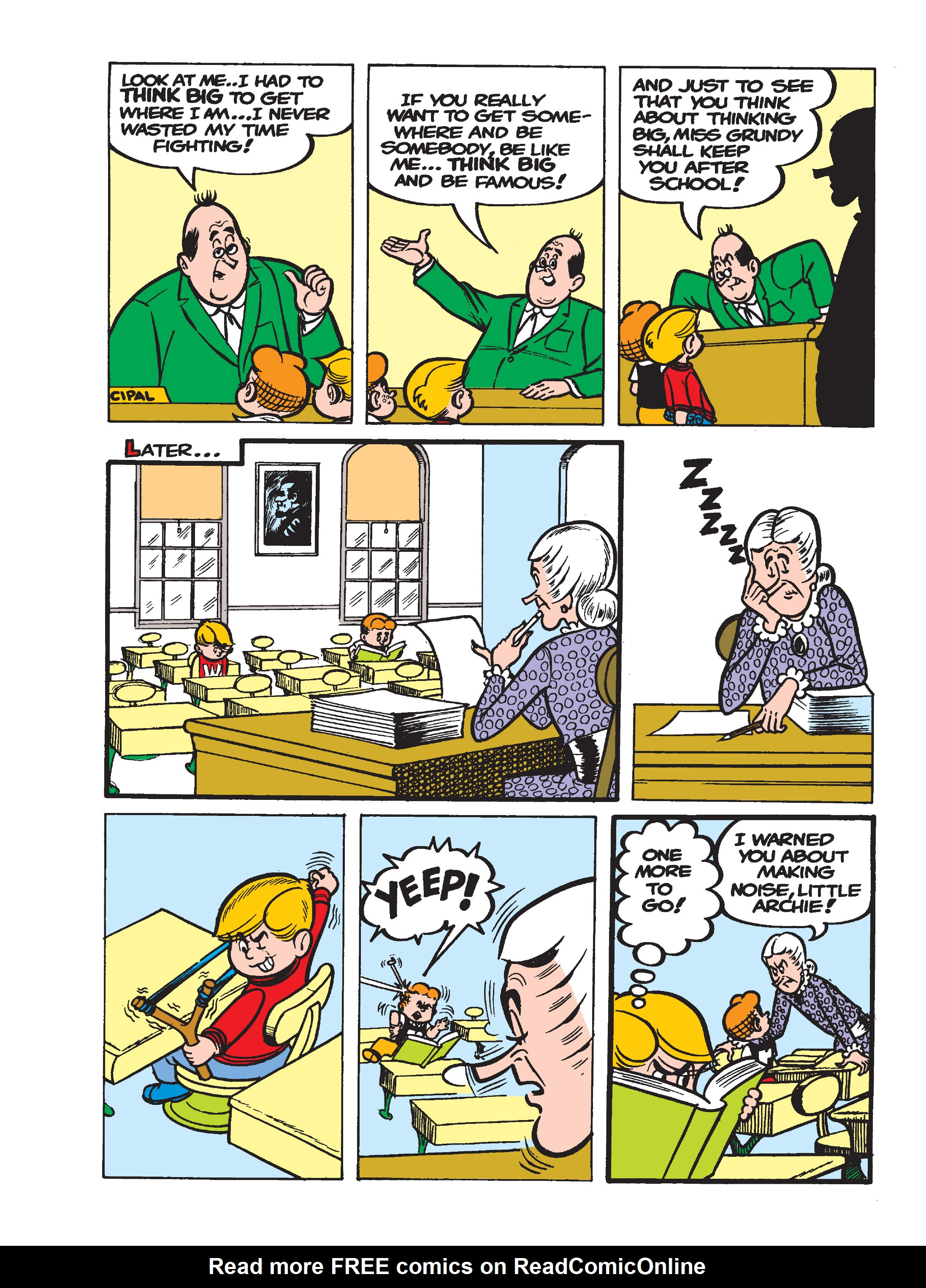 Read online Archie's Funhouse Double Digest comic -  Issue #17 - 132