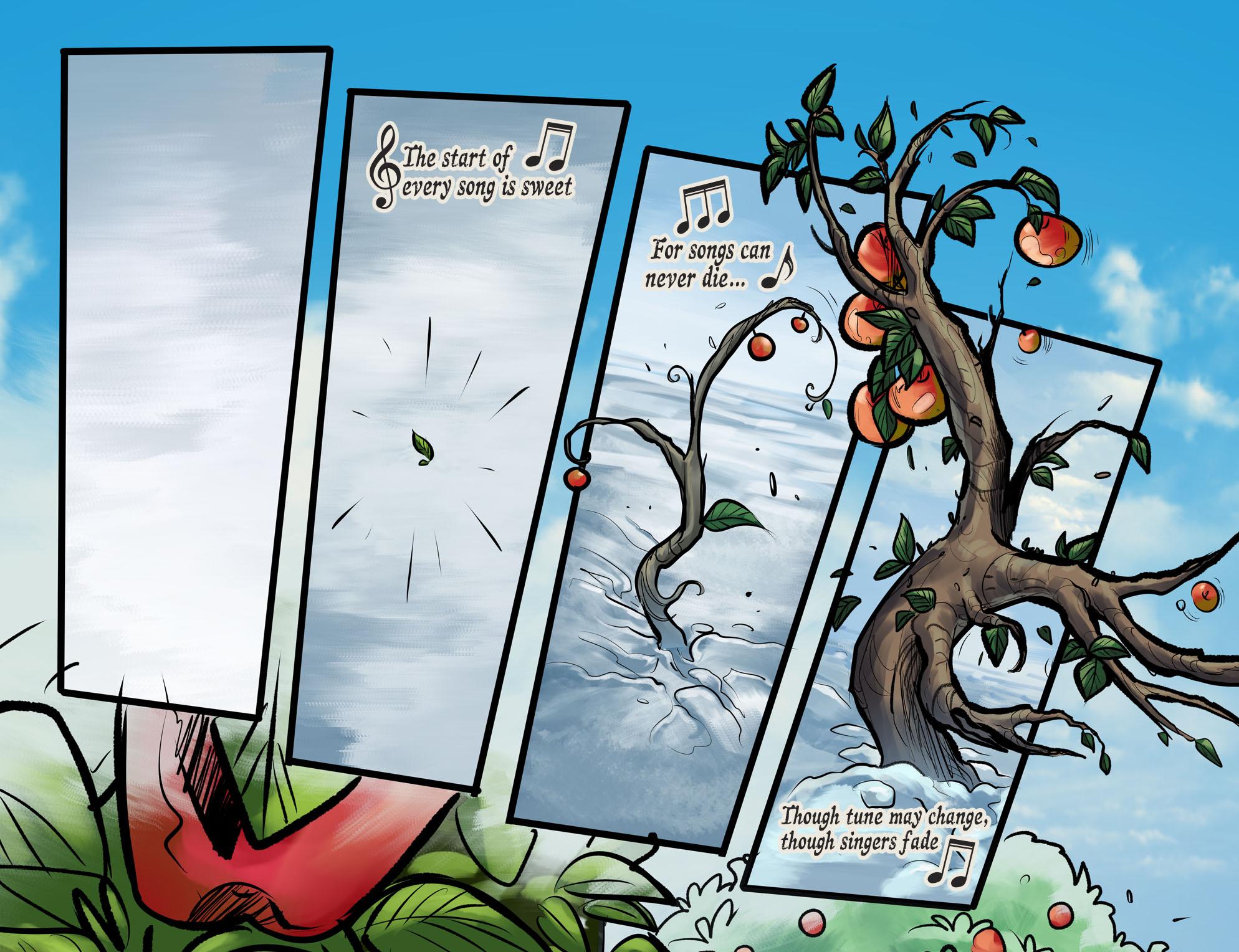 Read online DC Comics: Bombshells comic -  Issue #100 - 4