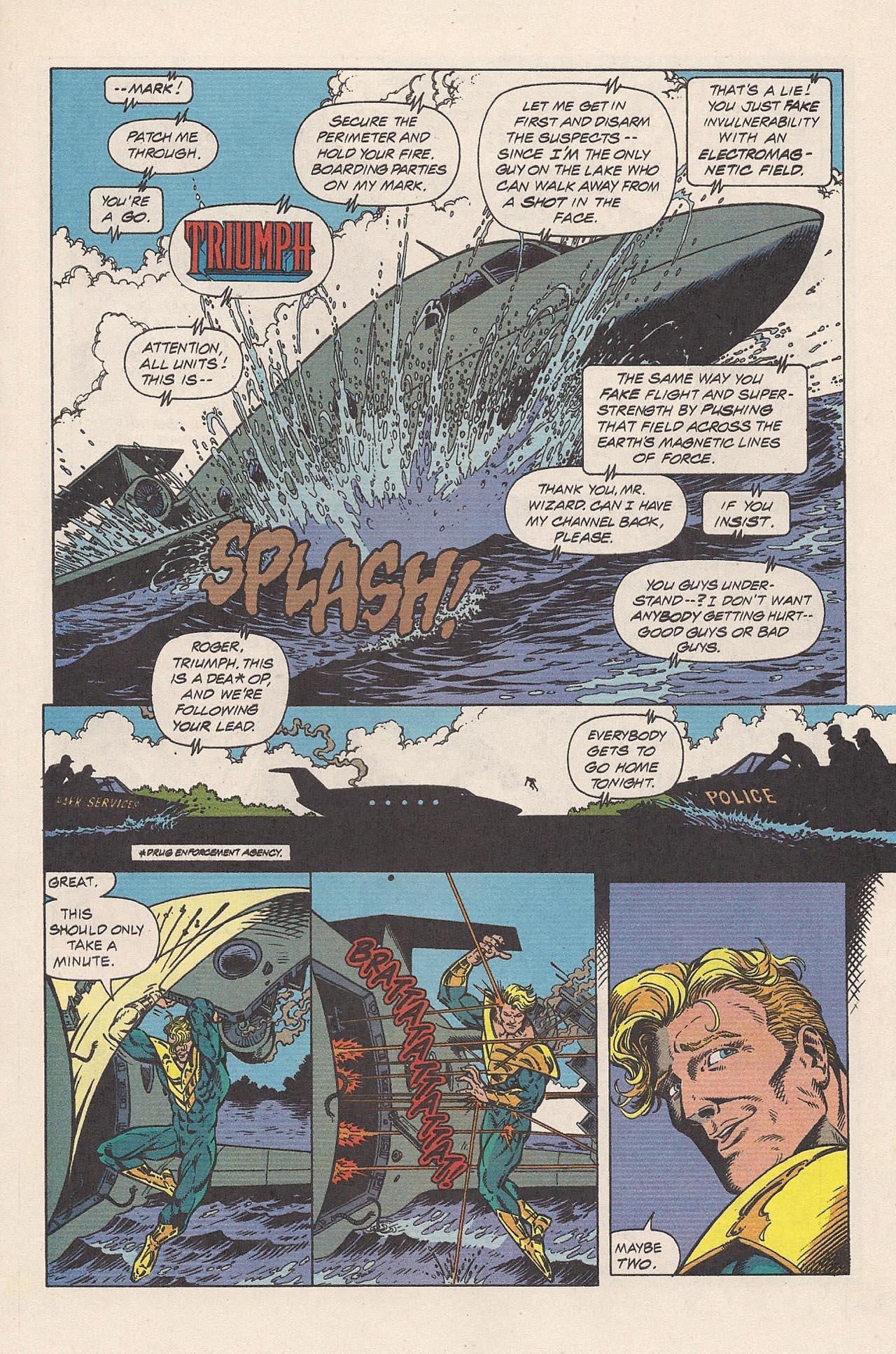 Read online Triumph comic -  Issue #2 - 15