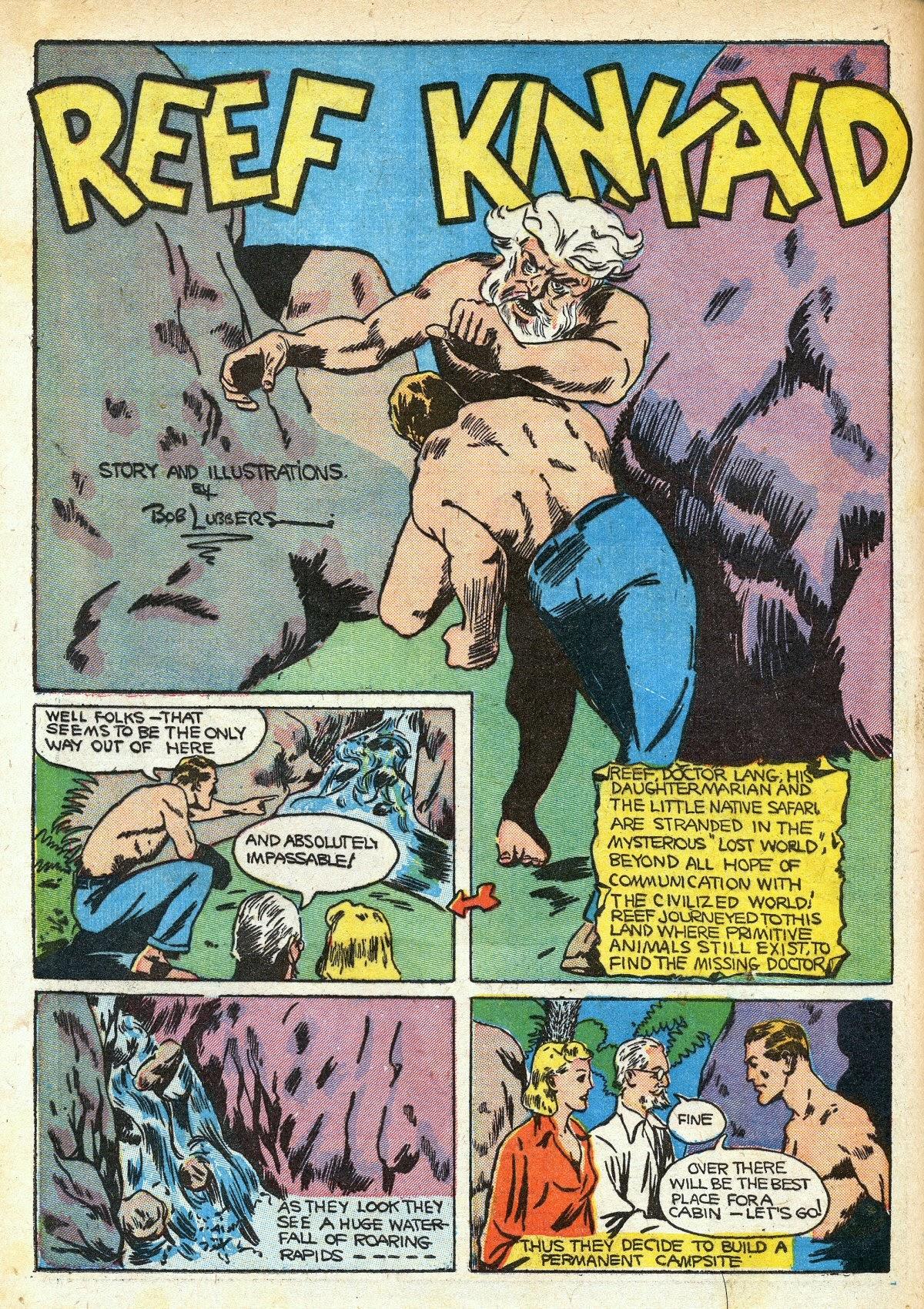 Read online Amazing Man Comics comic -  Issue #16 - 52