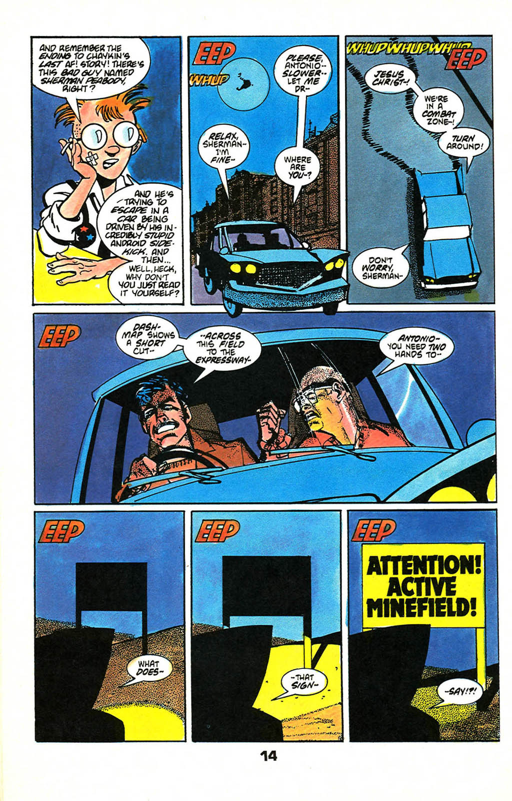 Read online American Flagg! comic -  Issue #46 - 18