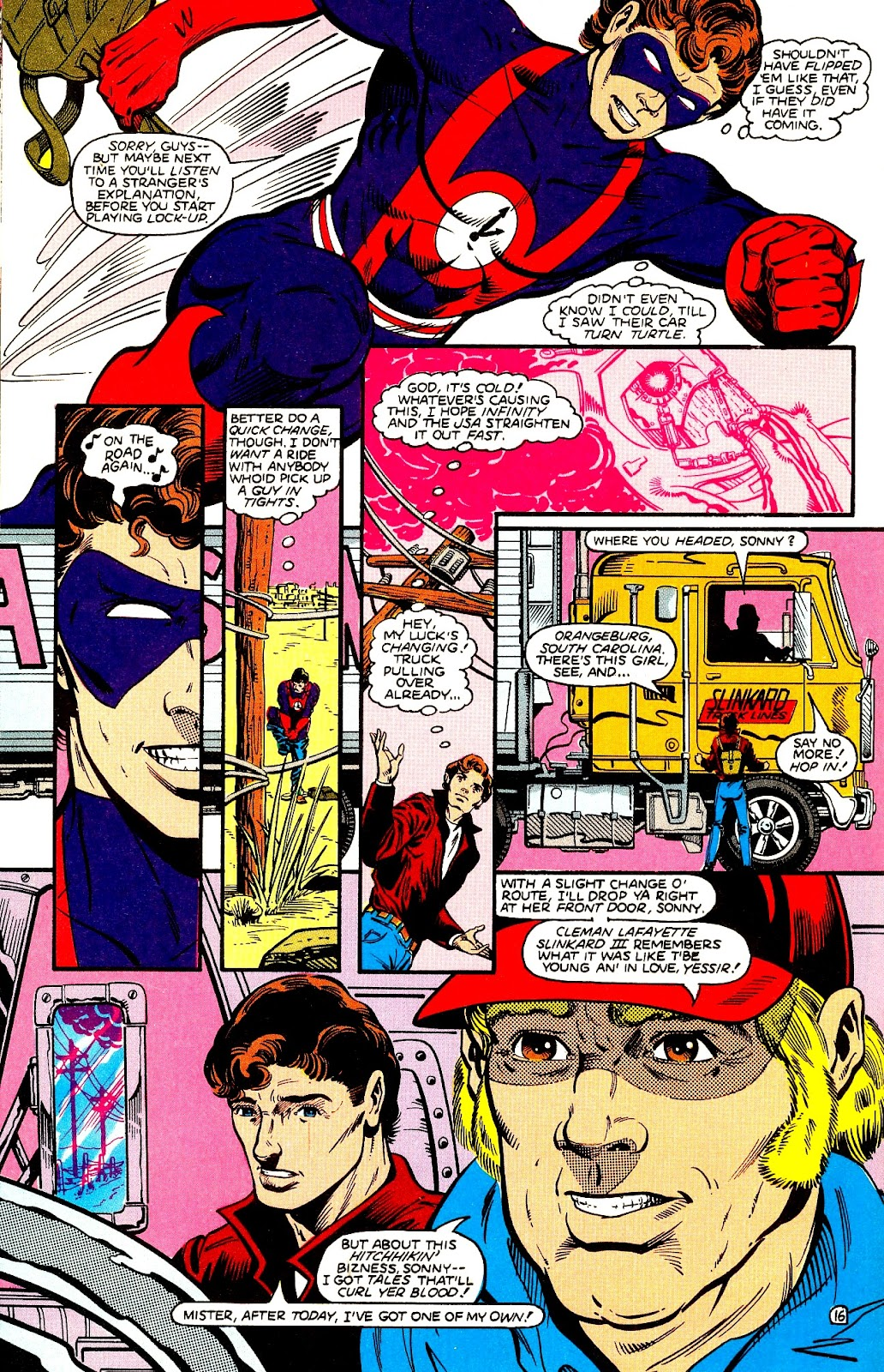 Infinity Inc. (1984) issue 21 - Page 18