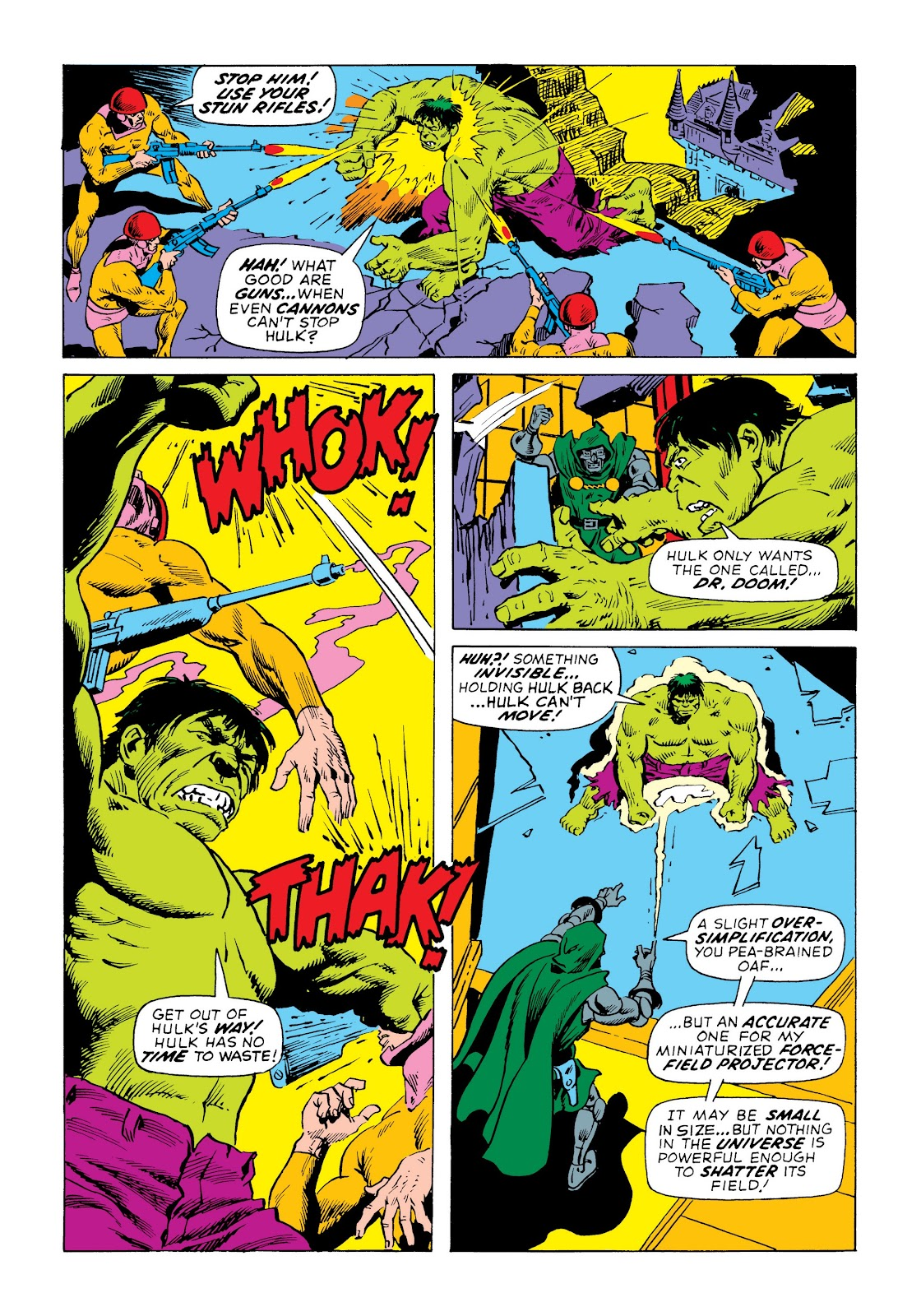 Read online Marvel Masterworks: The Incredible Hulk comic -  Issue # TPB 7 (Part 3) - 21