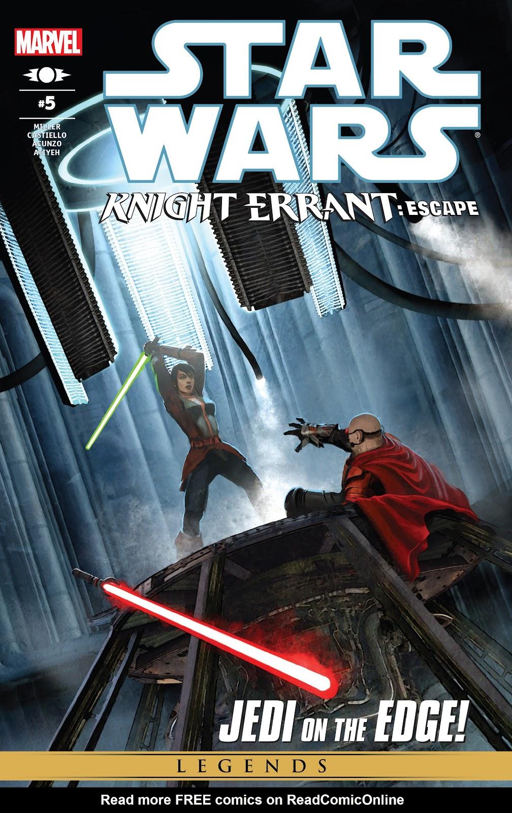 Star Wars: Knight Errant - Escape 5 Page 1