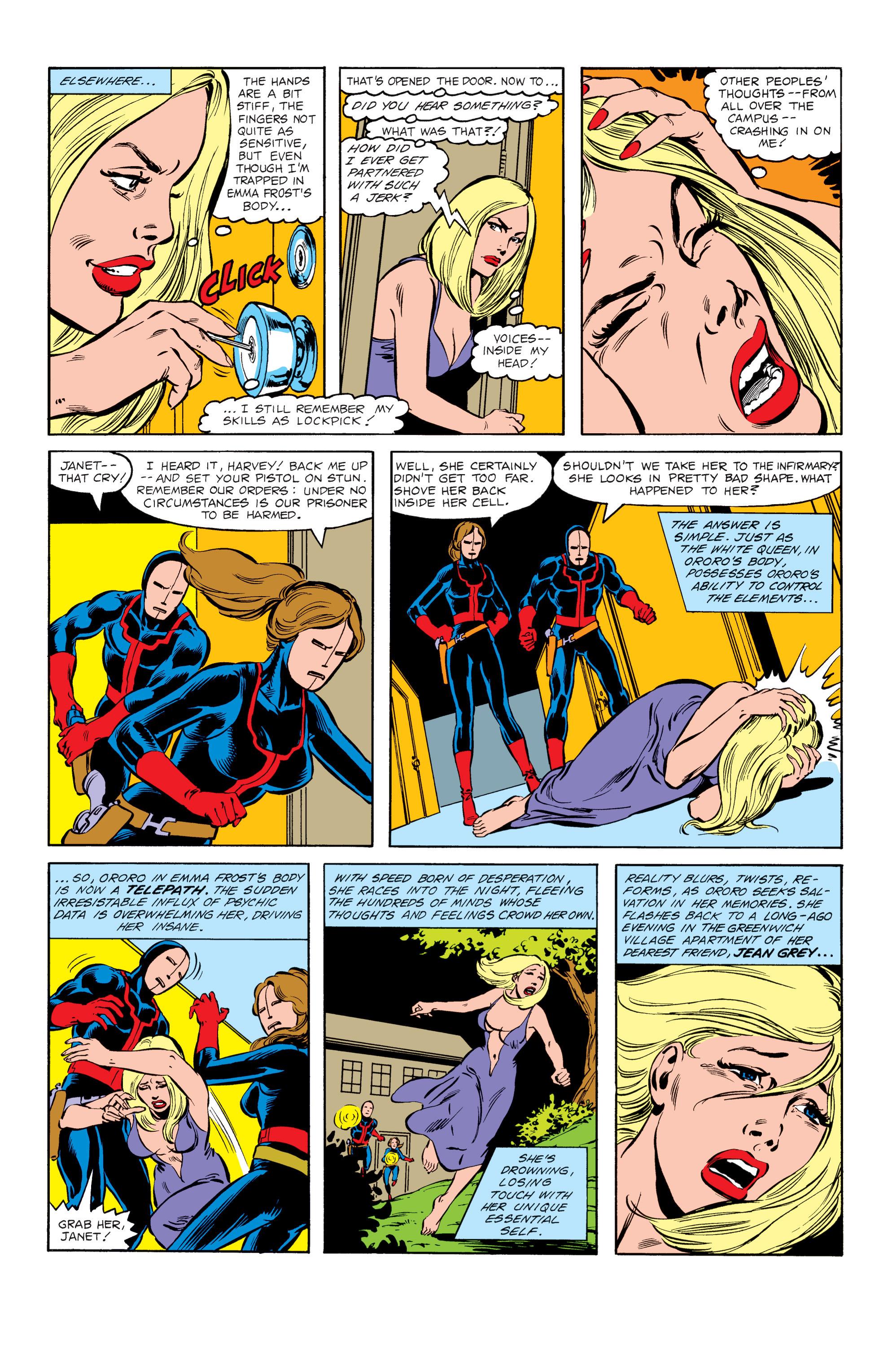 Read online Uncanny X-Men (1963) comic -  Issue #151 - 21