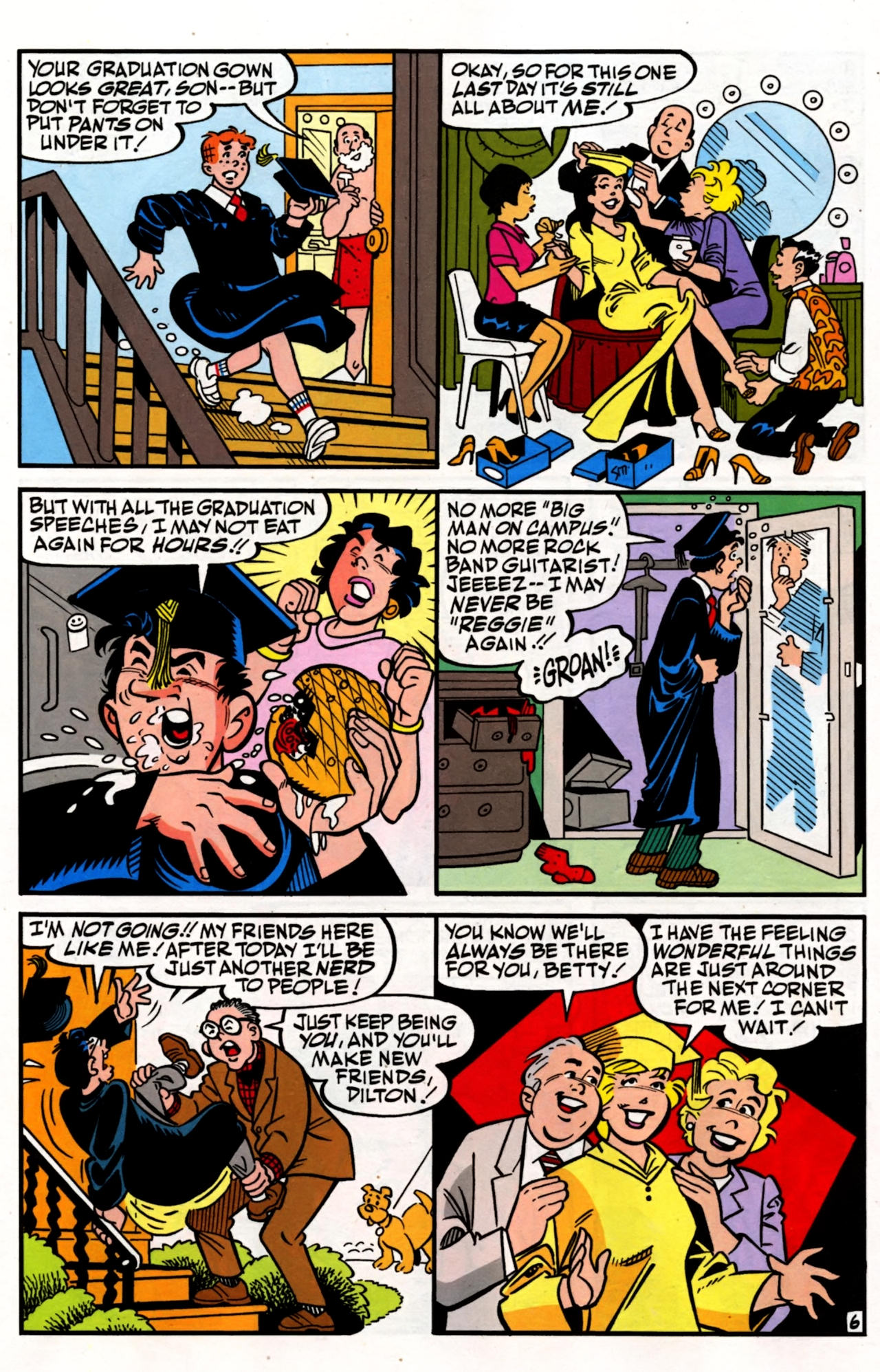 Read online Archie (1960) comic -  Issue #600 - 10
