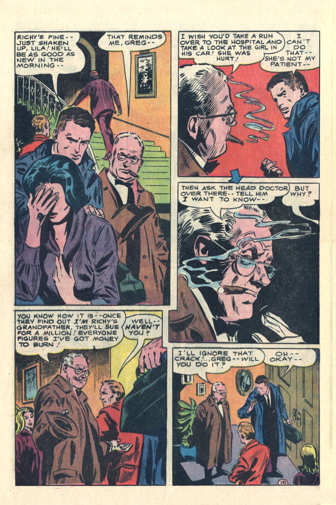 Read online Secret Hearts comic -  Issue #113 - 28