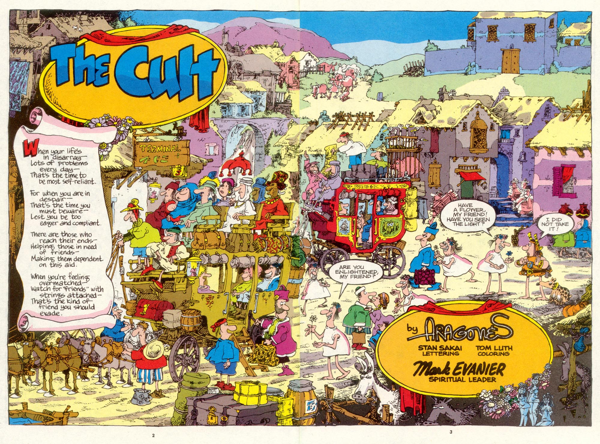 Read online Sergio Aragonés Groo the Wanderer comic -  Issue #89 - 4