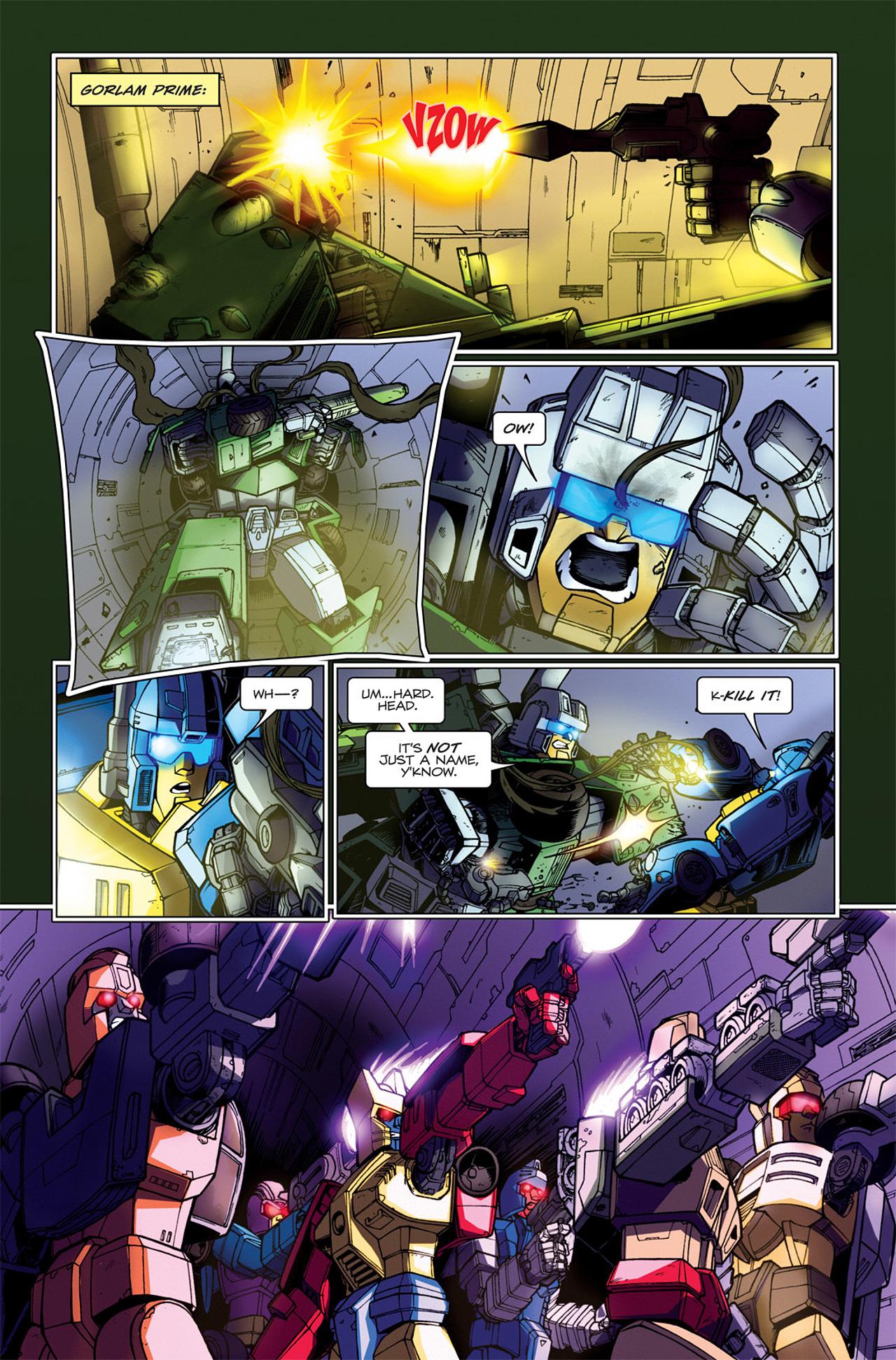 Read online Transformers Spotlight: Hardhead comic -  Issue # Full - 20