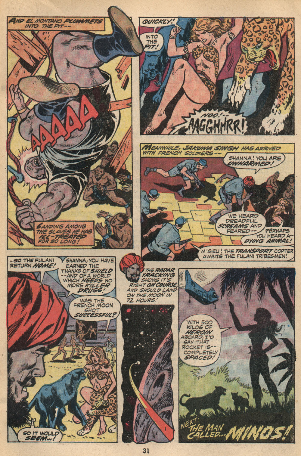 Read online Shanna, the She-Devil (1972) comic -  Issue #2 - 21