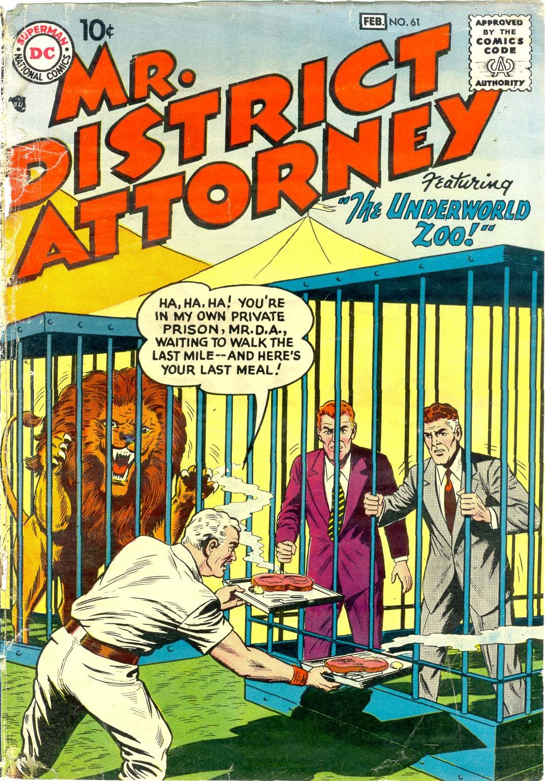 Mr. District Attorney issue 61 - Page 1