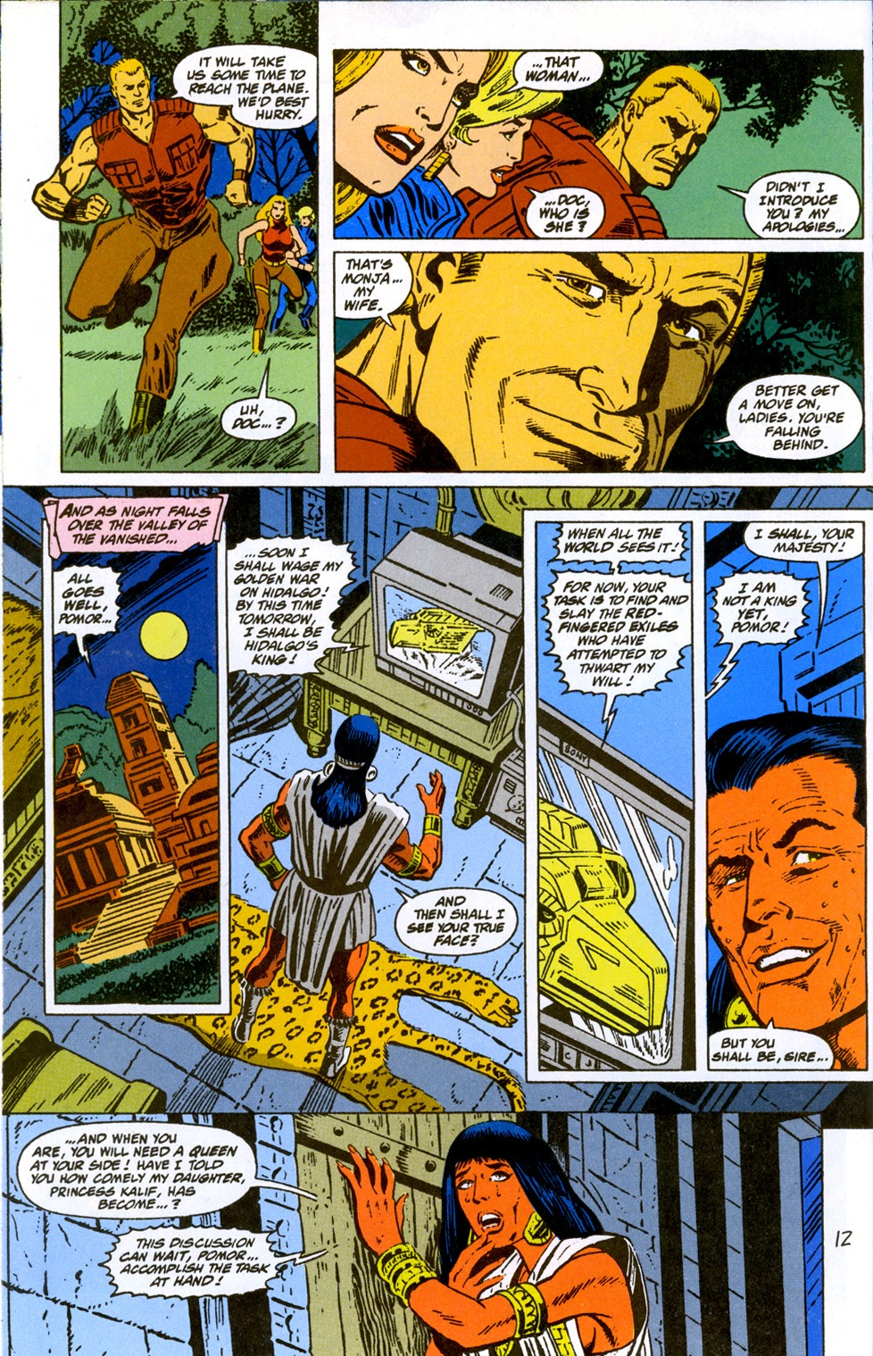 Doc Savage (1988) issue 10 - Page 14