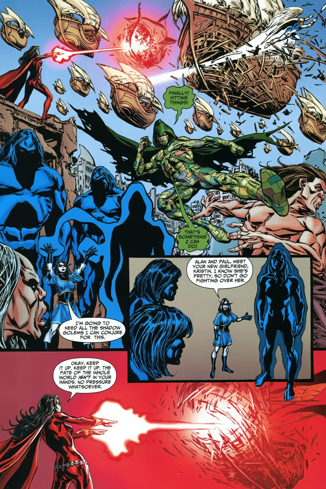 Read online Shadowpact comic -  Issue #22 - 9