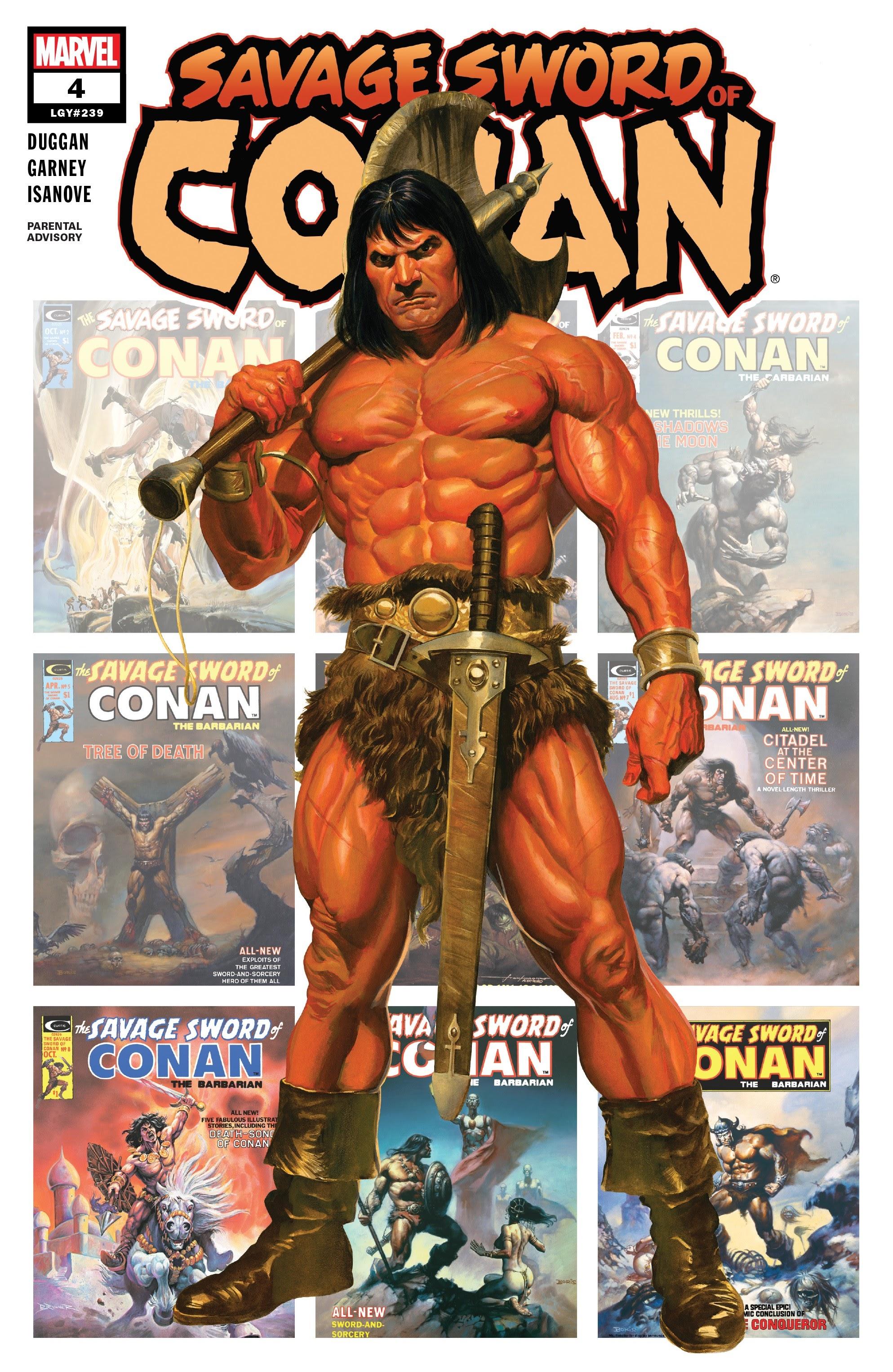 Savage Sword of Conan 4 Page 1