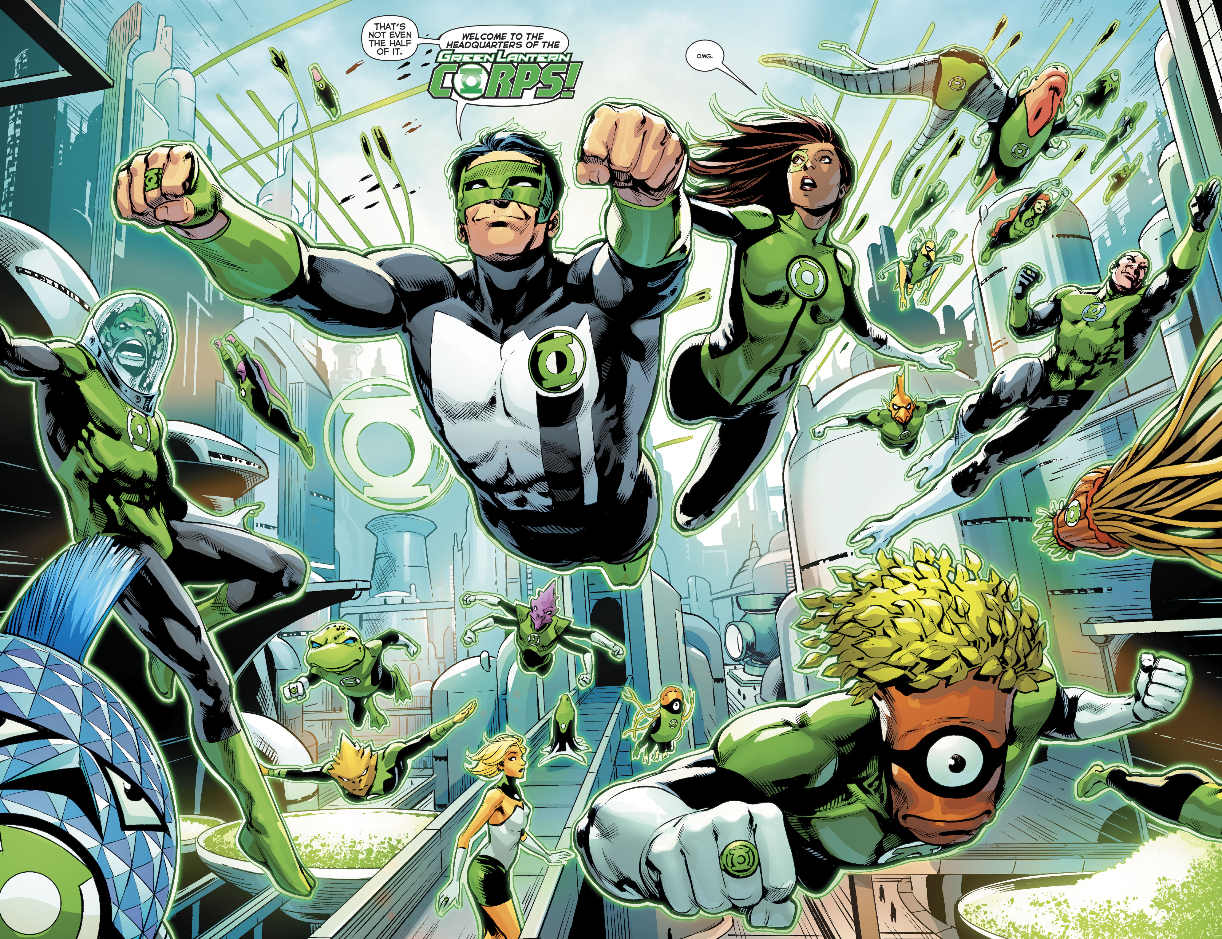 Read online Green Lanterns comic -  Issue #22 - 11