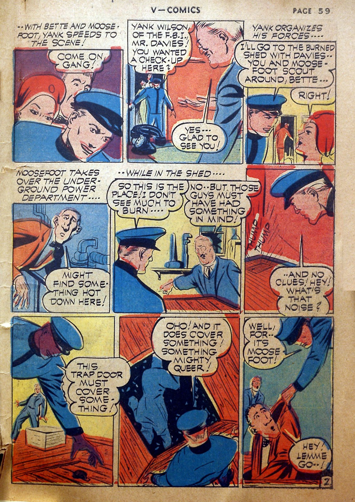 Read online V...- Comics comic -  Issue #2 - 60