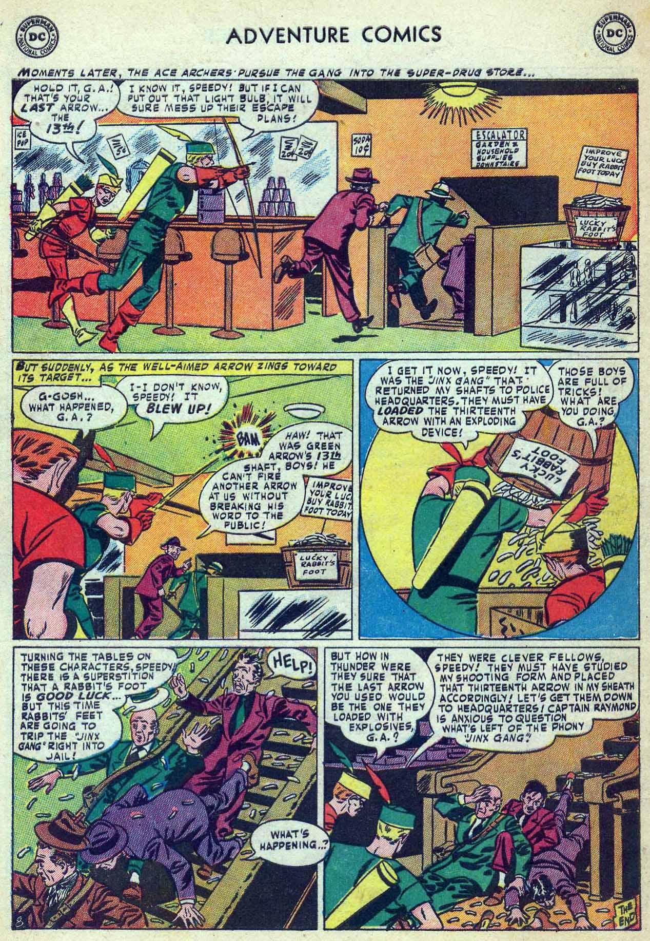 Read online Adventure Comics (1938) comic -  Issue #180 - 42