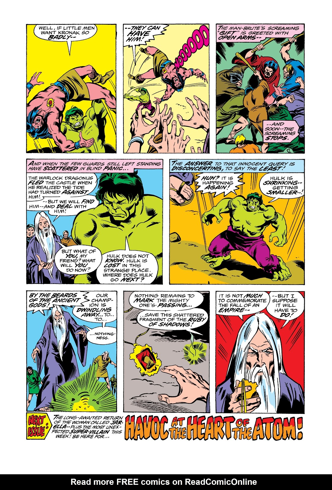 Read online Marvel Masterworks: The Incredible Hulk comic -  Issue # TPB 12 (Part 2) - 36