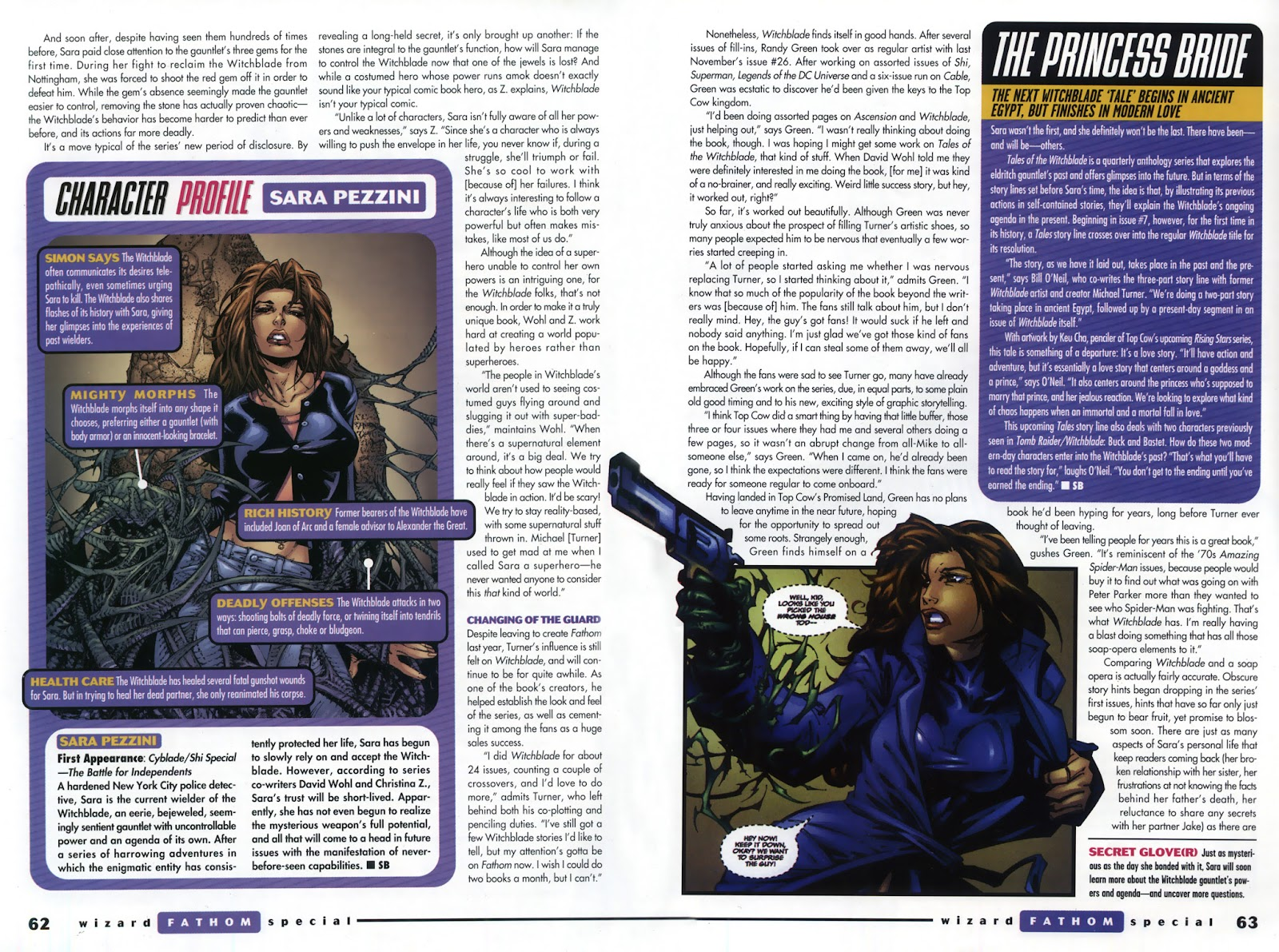 Read online Fathom Special comic -  Issue # Full - 46