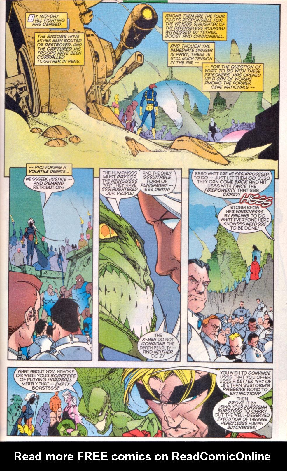 Read online Uncanny X-Men (1963) comic -  Issue # _Annual 1997 - 30