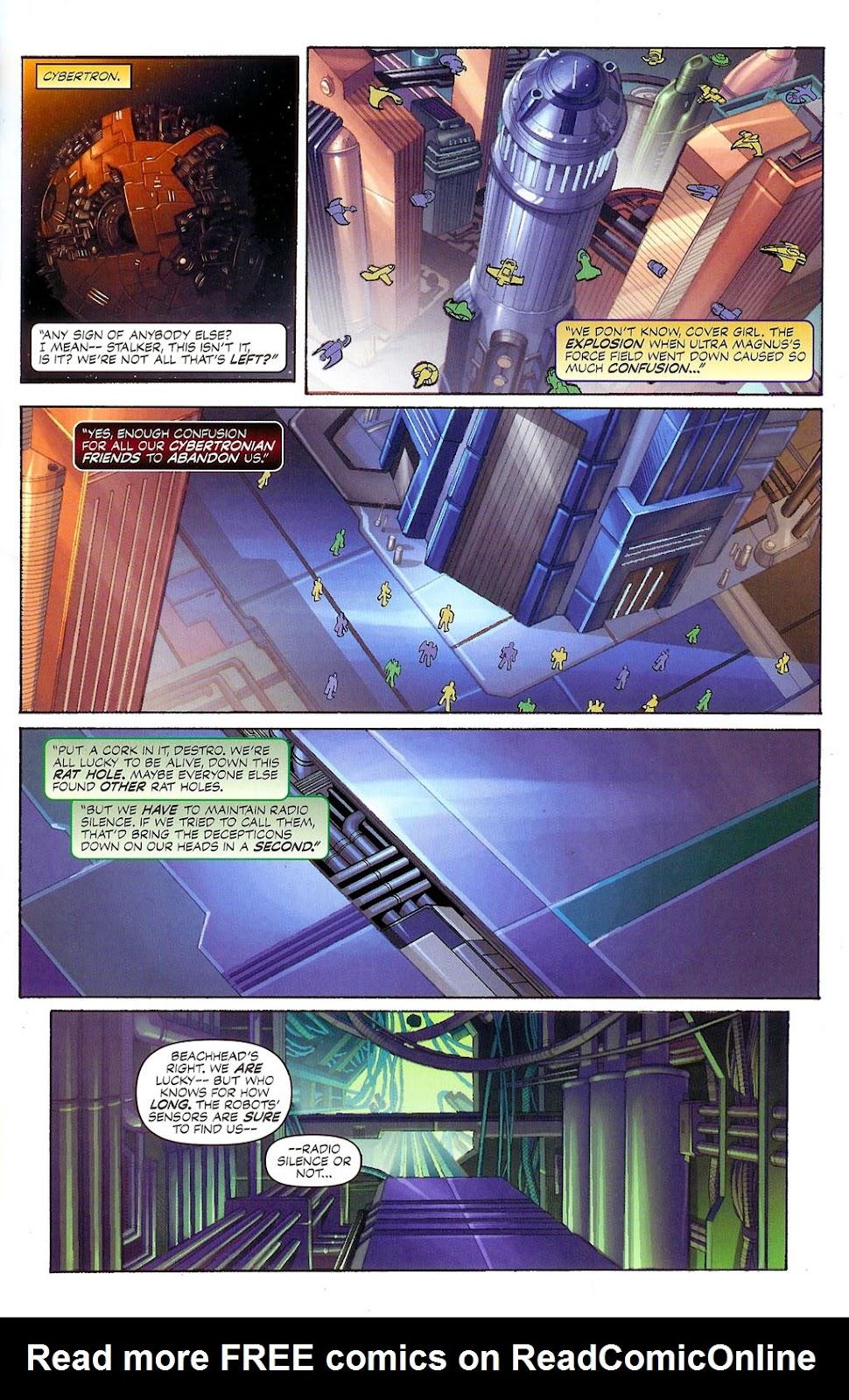 G.I. Joe vs. The Transformers II Issue #4 #5 - English 3