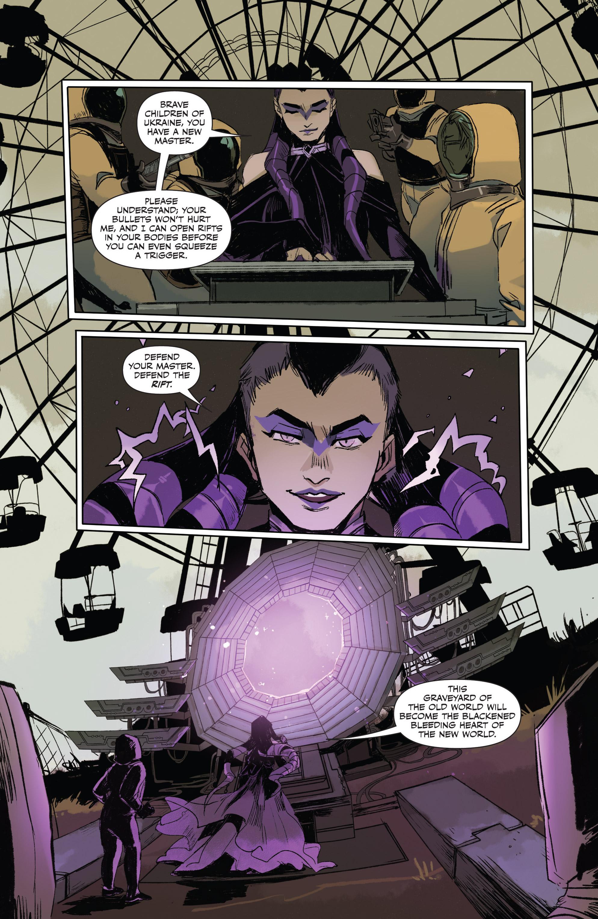 Read online Freelance comic -  Issue #3 - 18