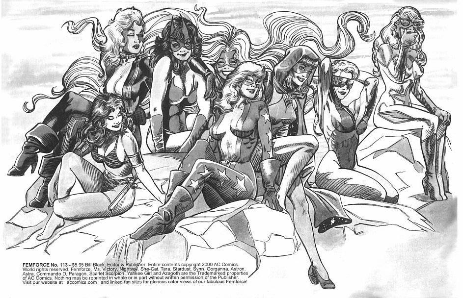 Femforce Issue #113 #113 - English 2