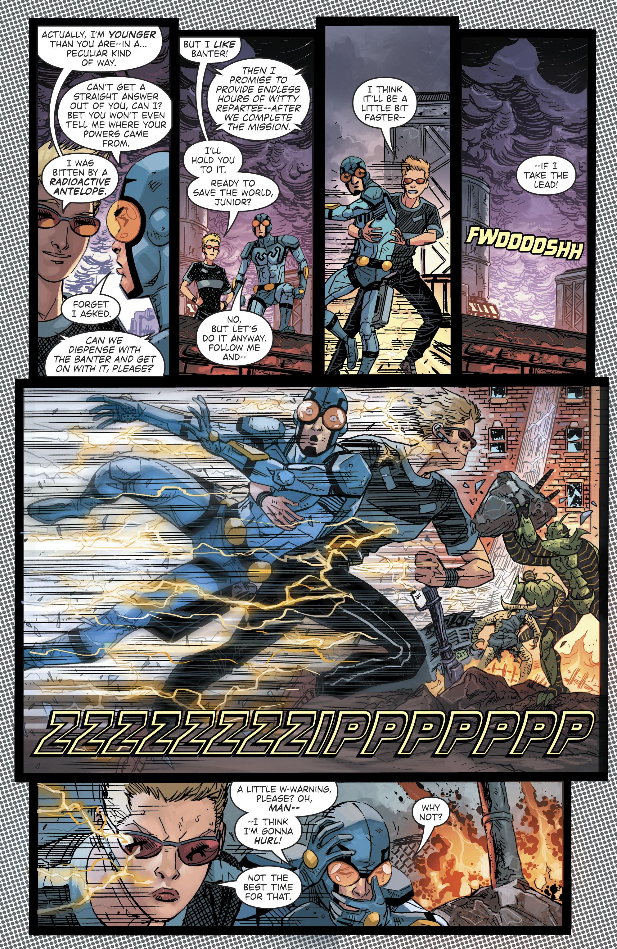 Read online Blue Beetle (2016) comic -  Issue #9 - 8