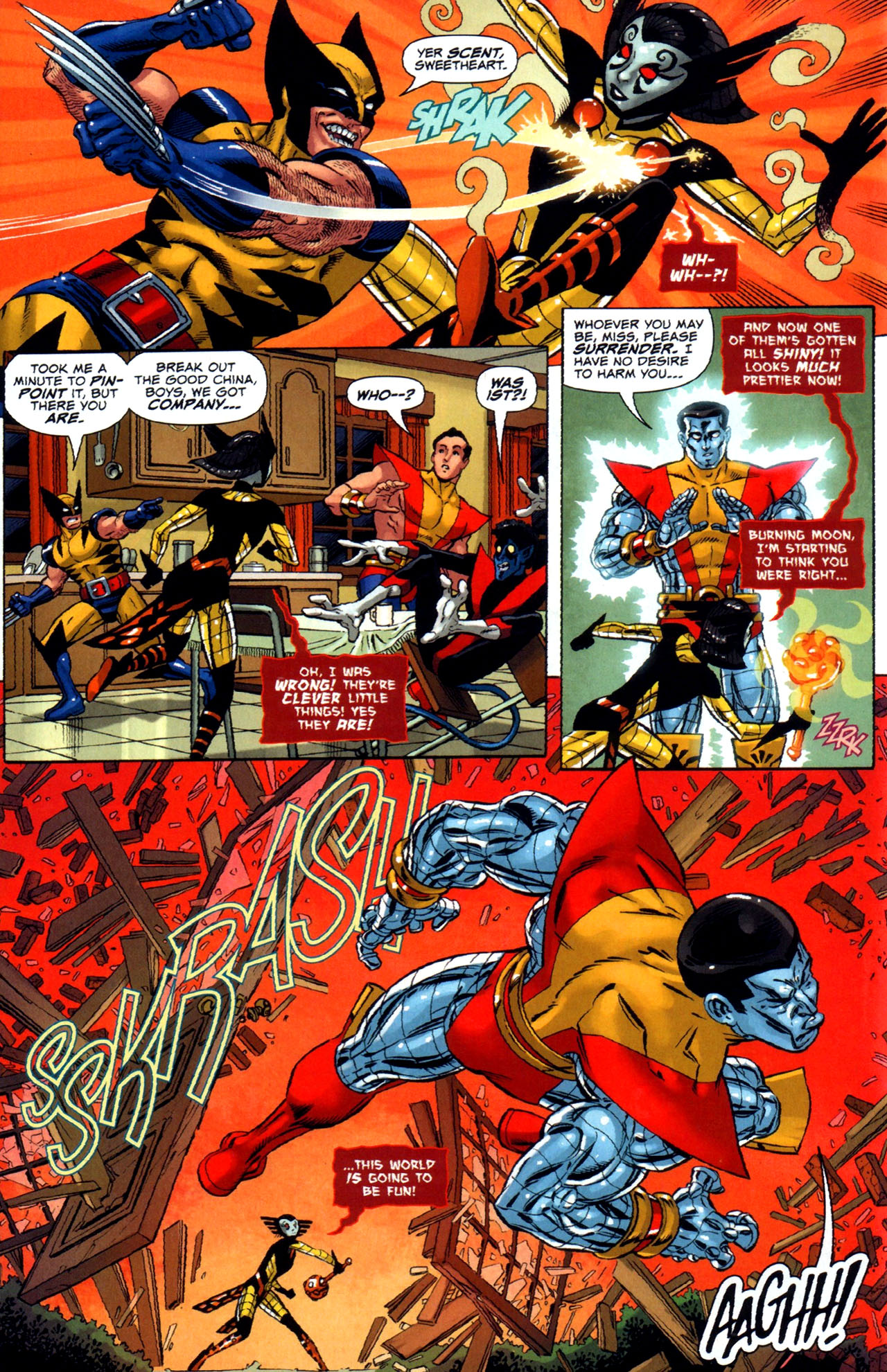 Read online Uncanny X-Men: First Class comic -  Issue #5 - 9