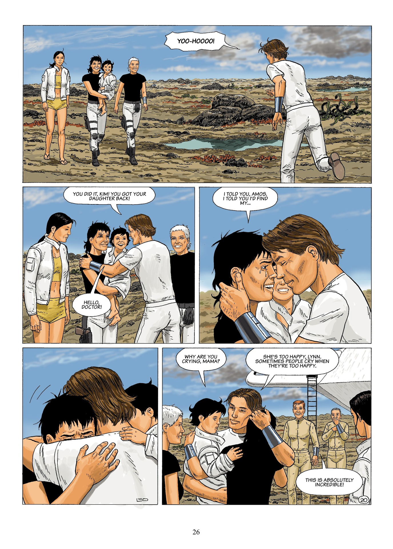 Read online Antares comic -  Issue #6 - 28