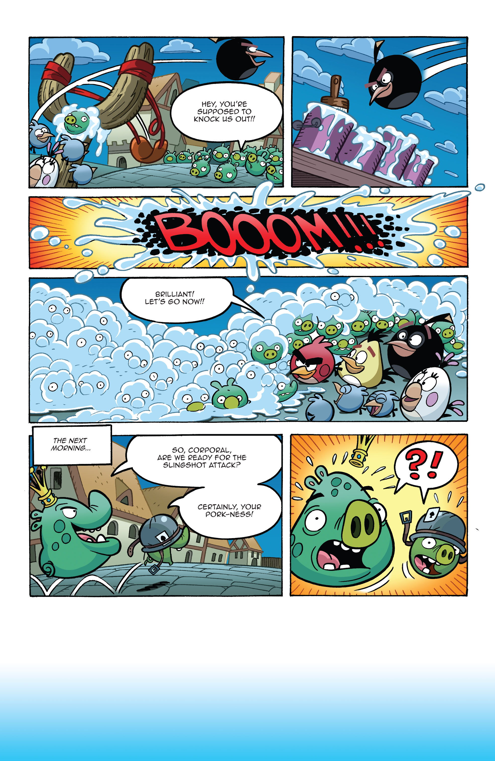 Read online Angry Birds Comics (2014) comic -  Issue #8 - 16
