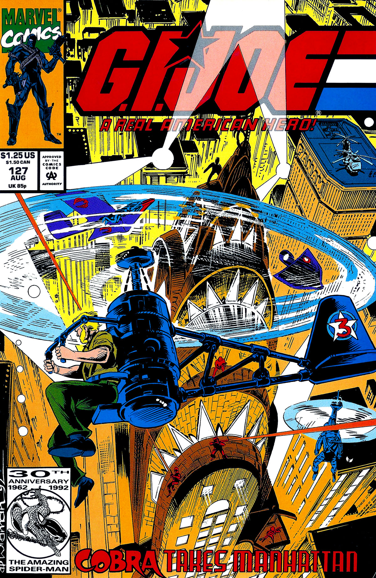 G.I. Joe: A Real American Hero 127 Page 1