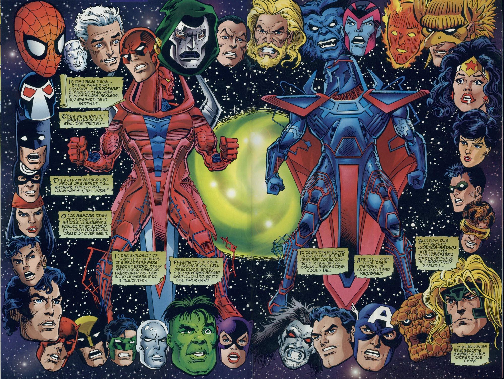 Read online DC Versus Marvel Comics comic -  Issue #2 - 14