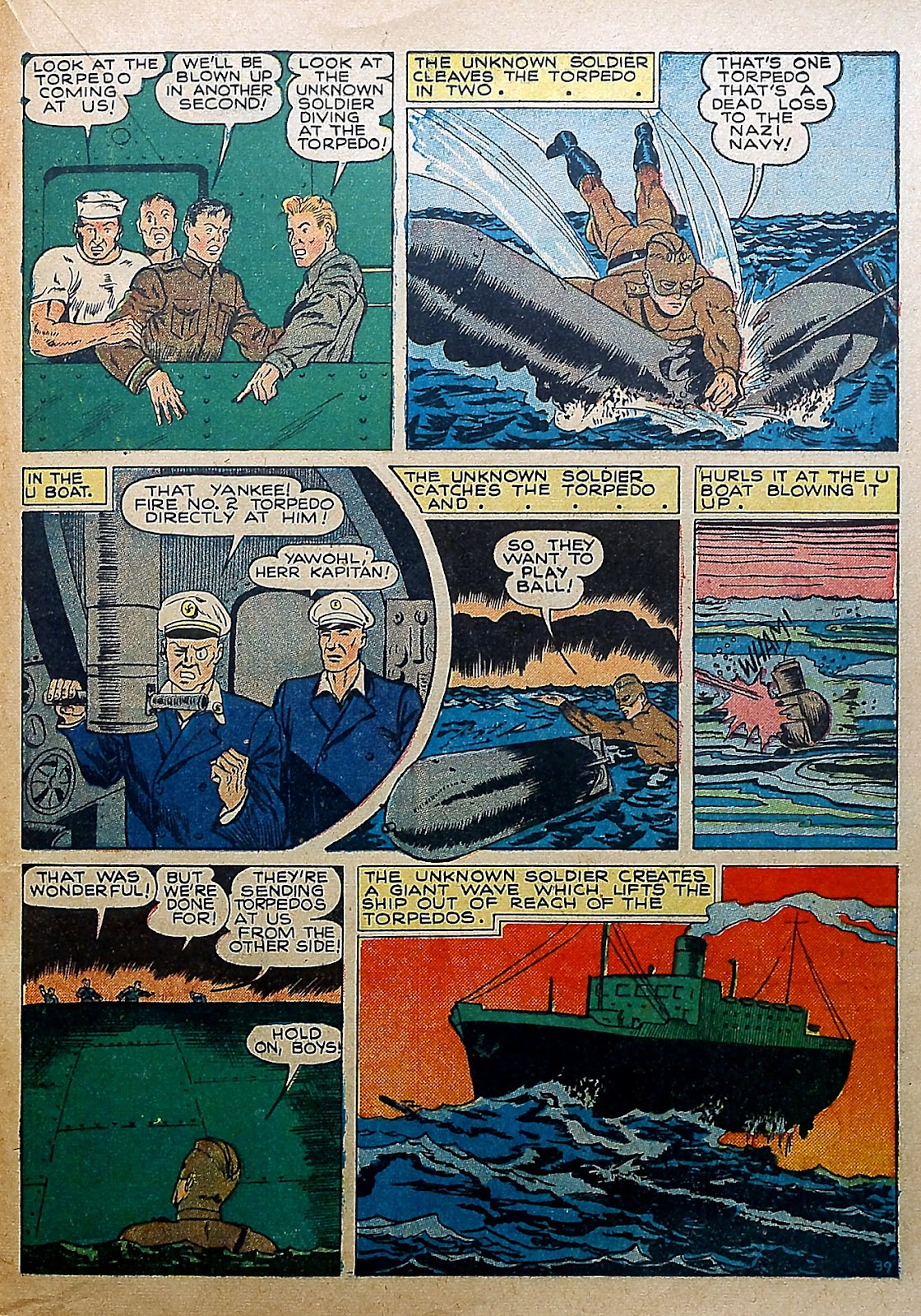 Our Flag Comics issue 5 - Page 36