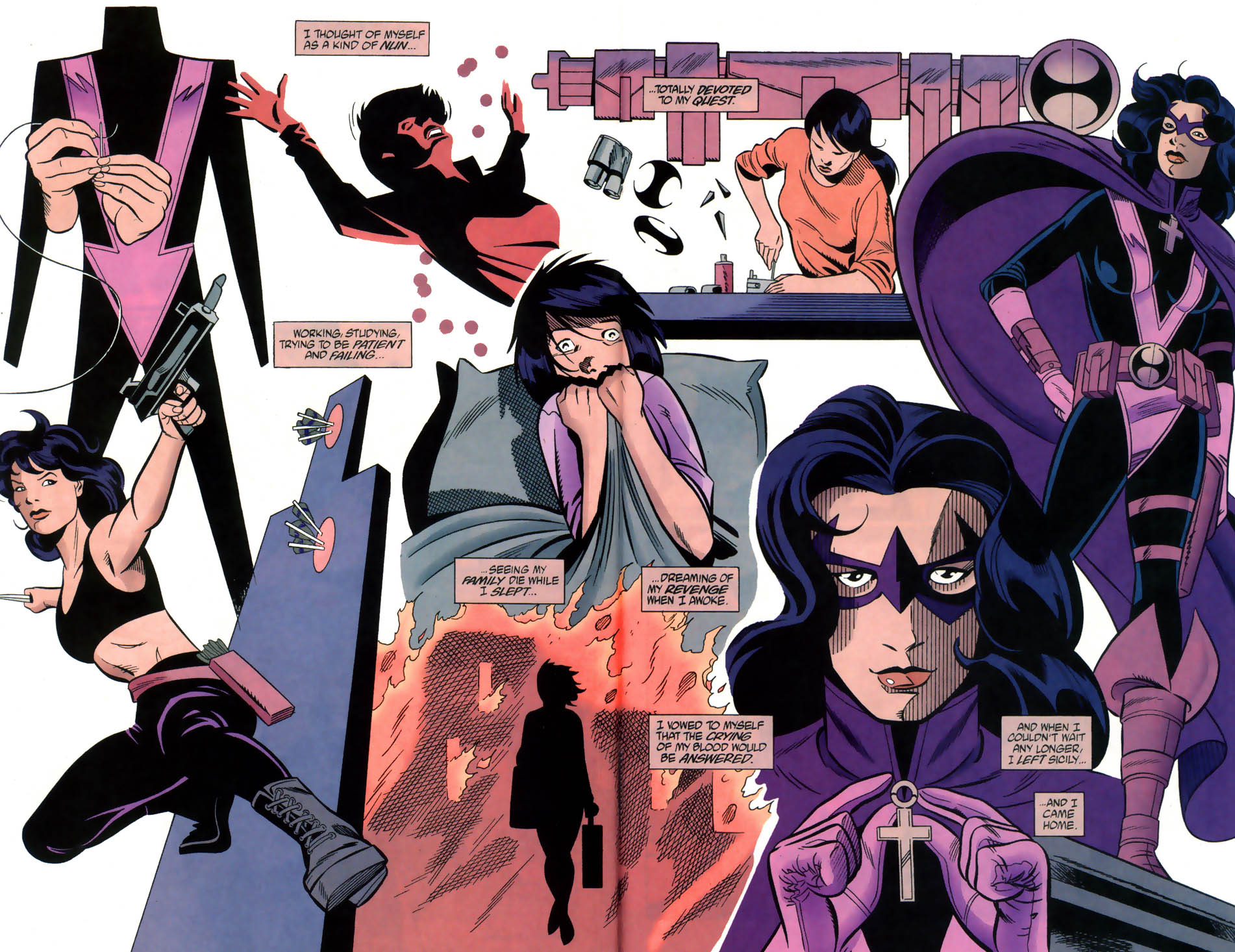 Read online Batman/Huntress: Cry for Blood comic -  Issue #5 - 13