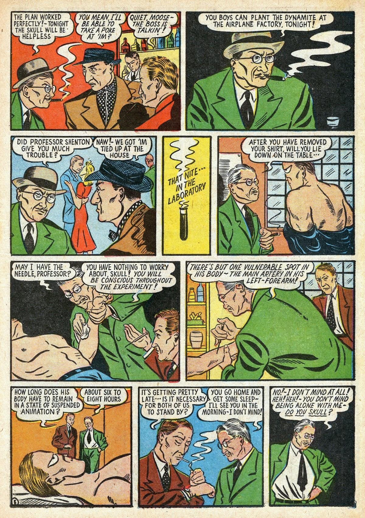 Read online Amazing Man Comics comic -  Issue #16 - 19