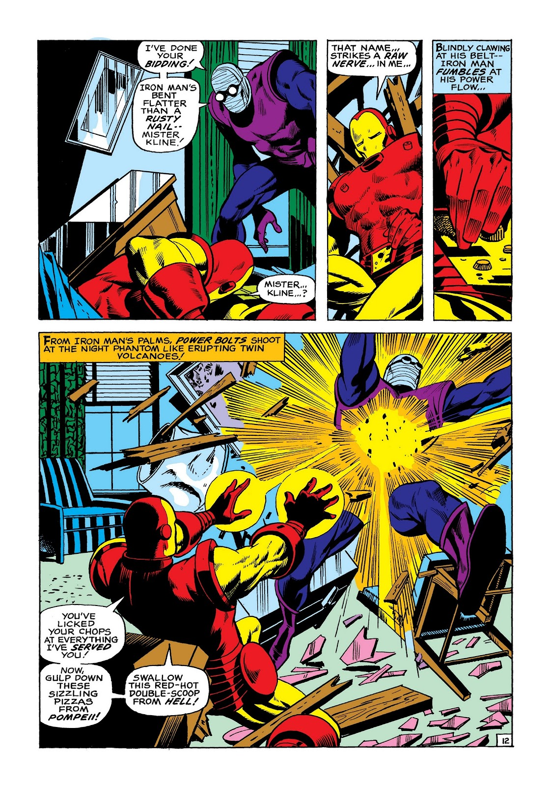 Read online Marvel Masterworks: The Invincible Iron Man comic -  Issue # TPB 8 (Part 2) - 20