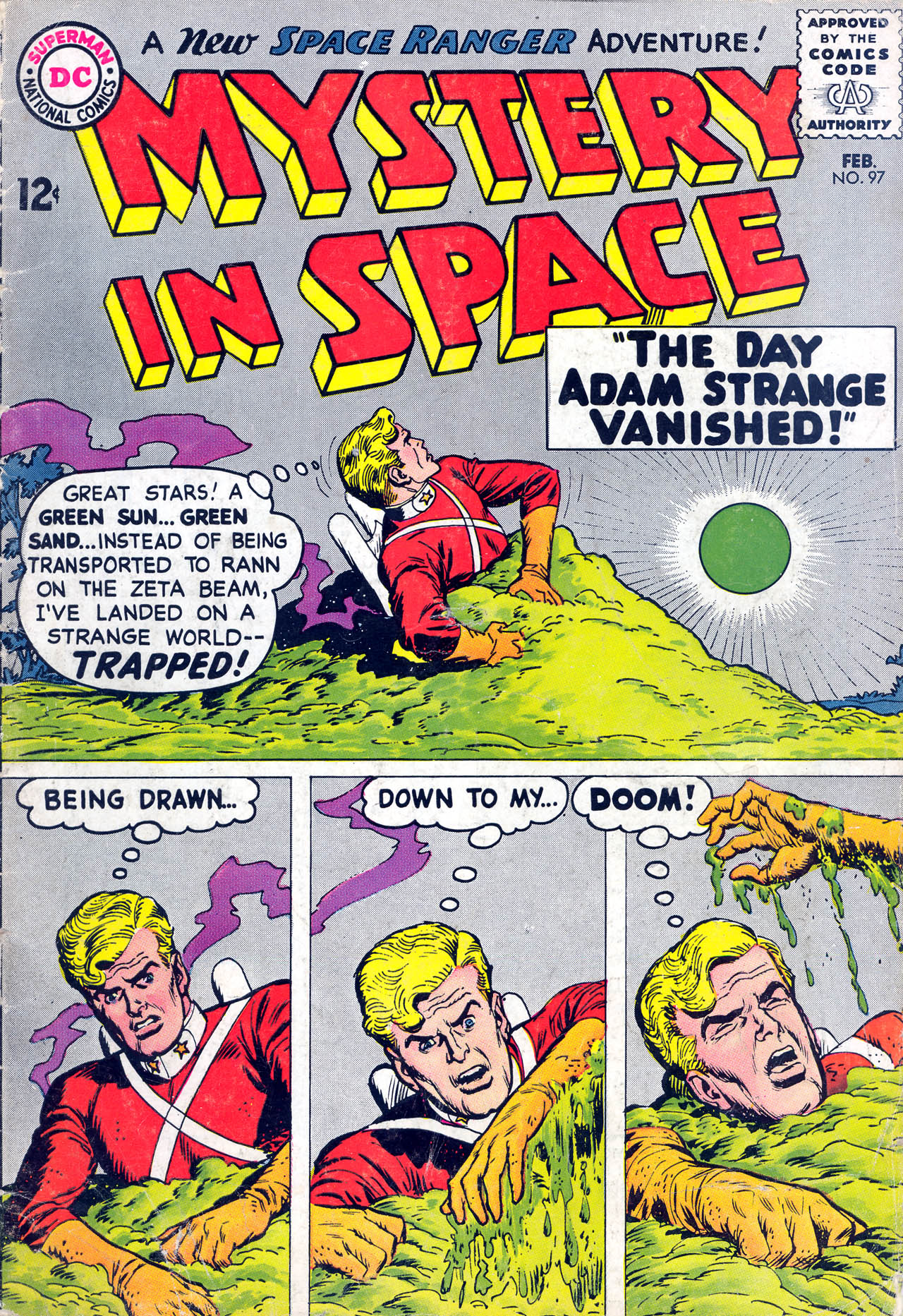 Mystery in Space (1951) issue 97 - Page 1