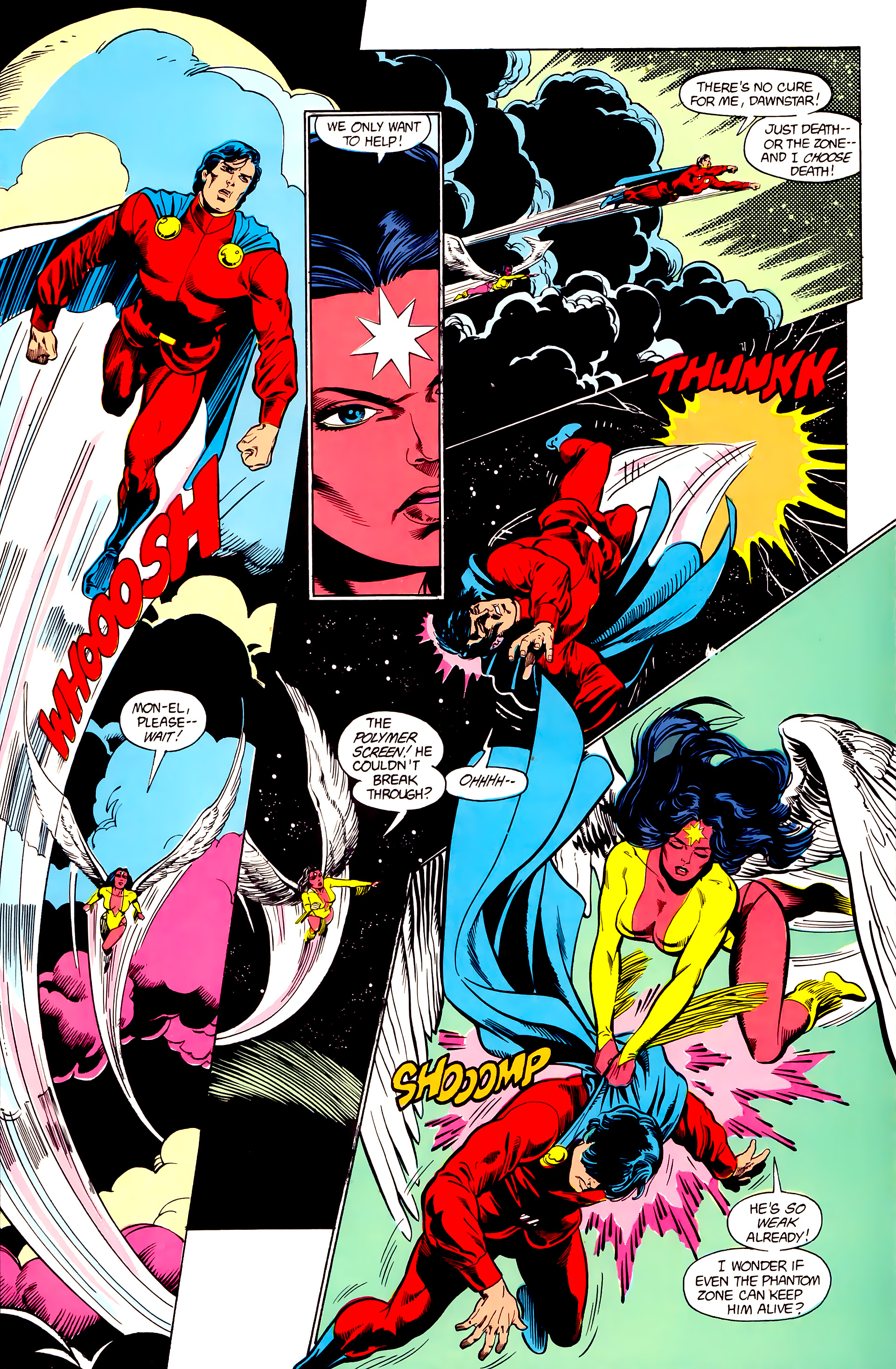 Legion of Super-Heroes (1984) 23 Page 6